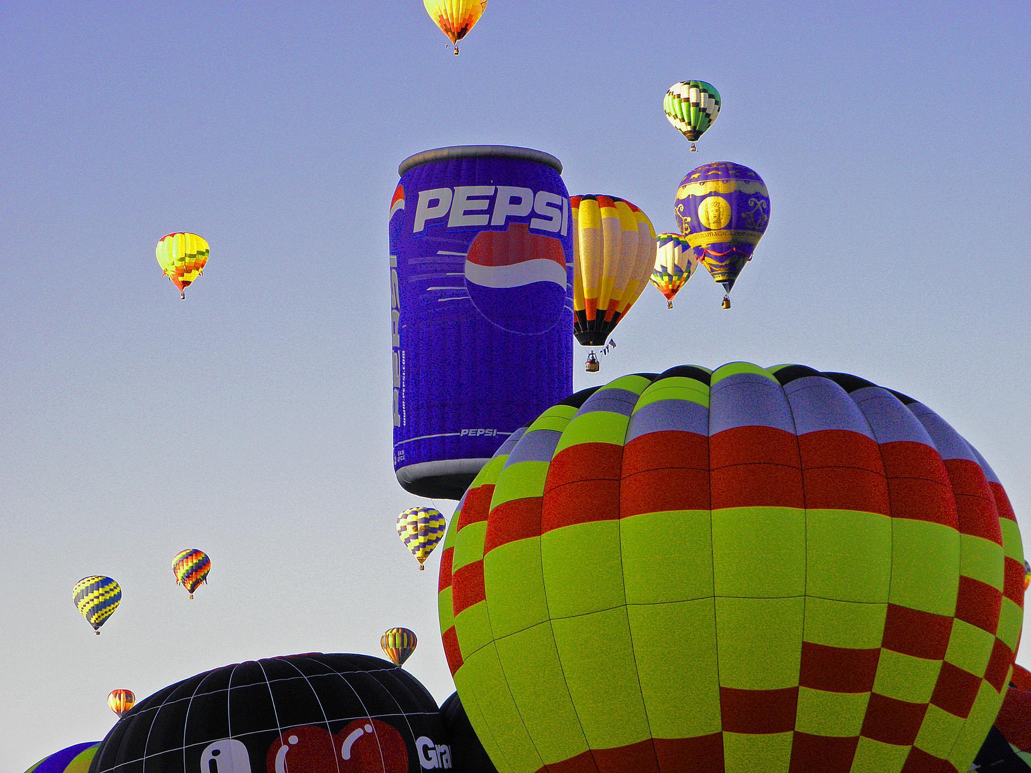 Pepsi in the sky. by Boonietunes