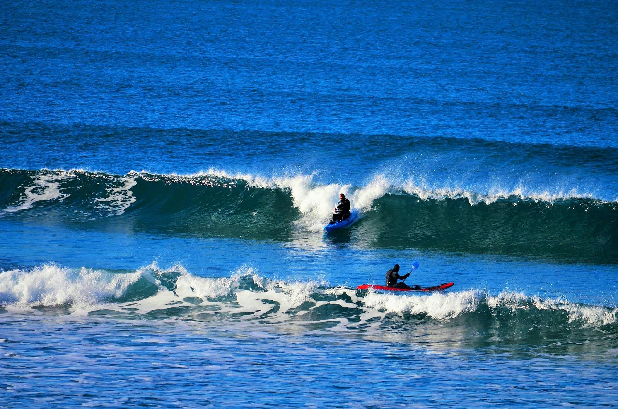 Kayak on the Oregon Coast by Boonietunes