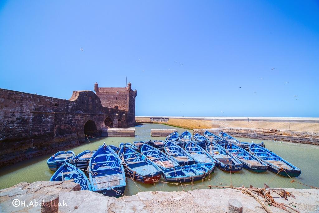 Port d'Essaouira by H.Abdellah