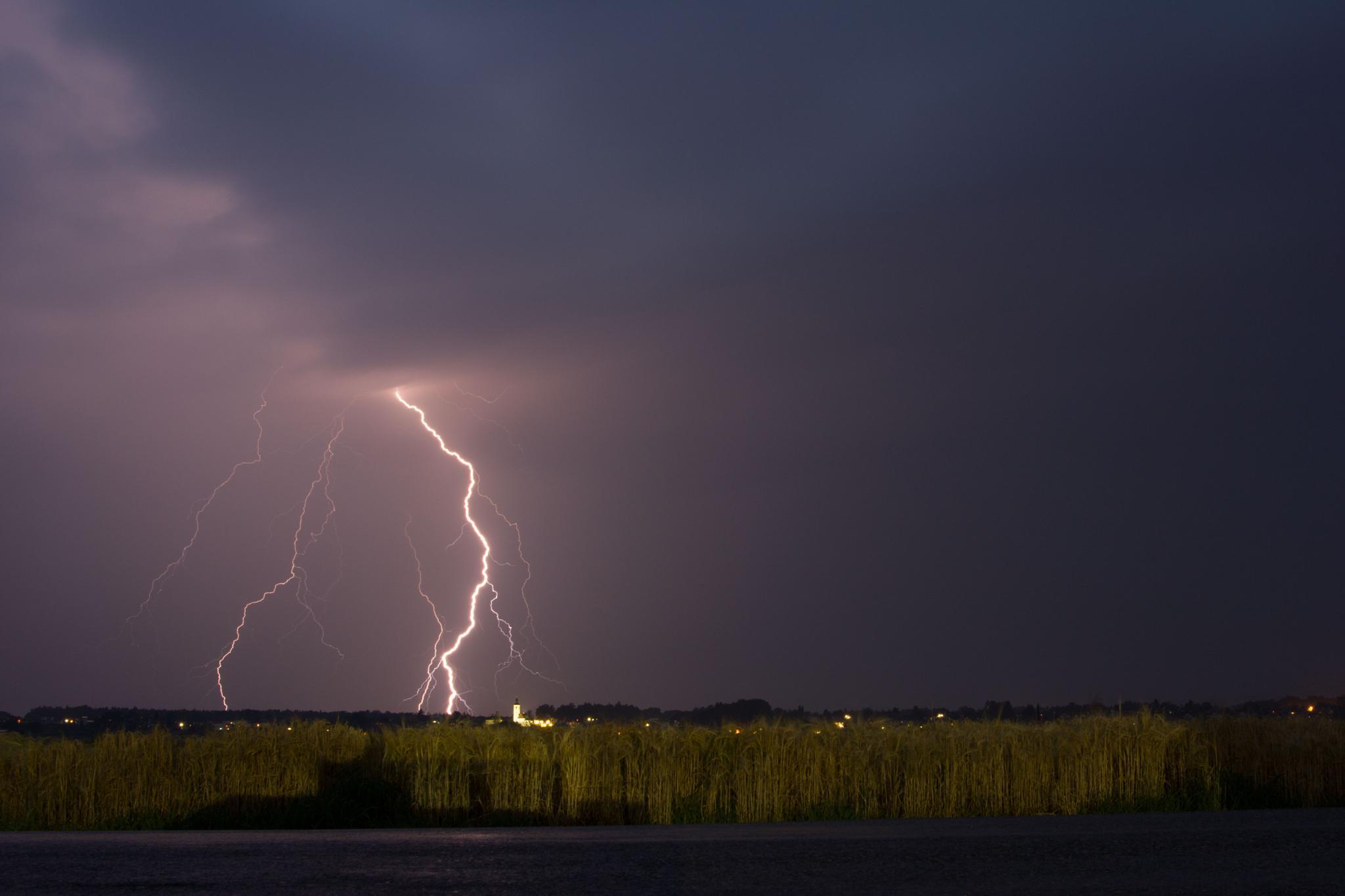 storm in southeast austria by Daniel Kiefer