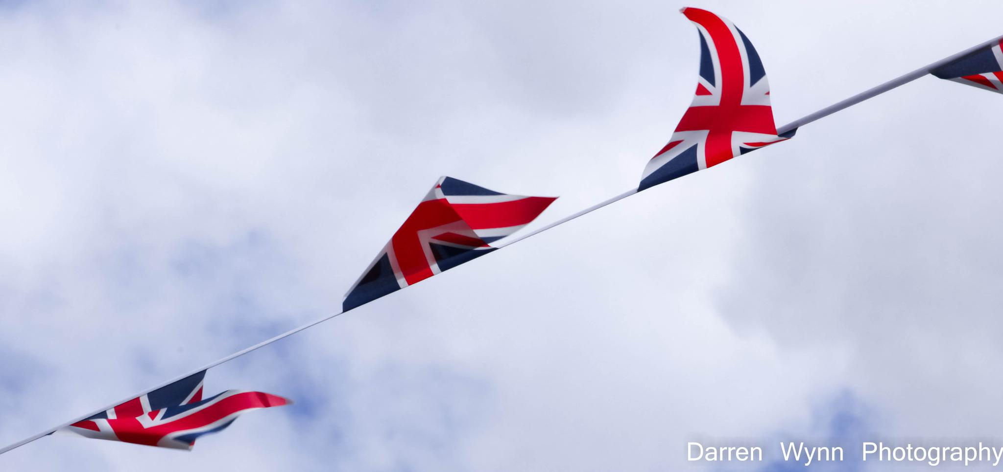 Union Flag Bunting by Darren Wynn