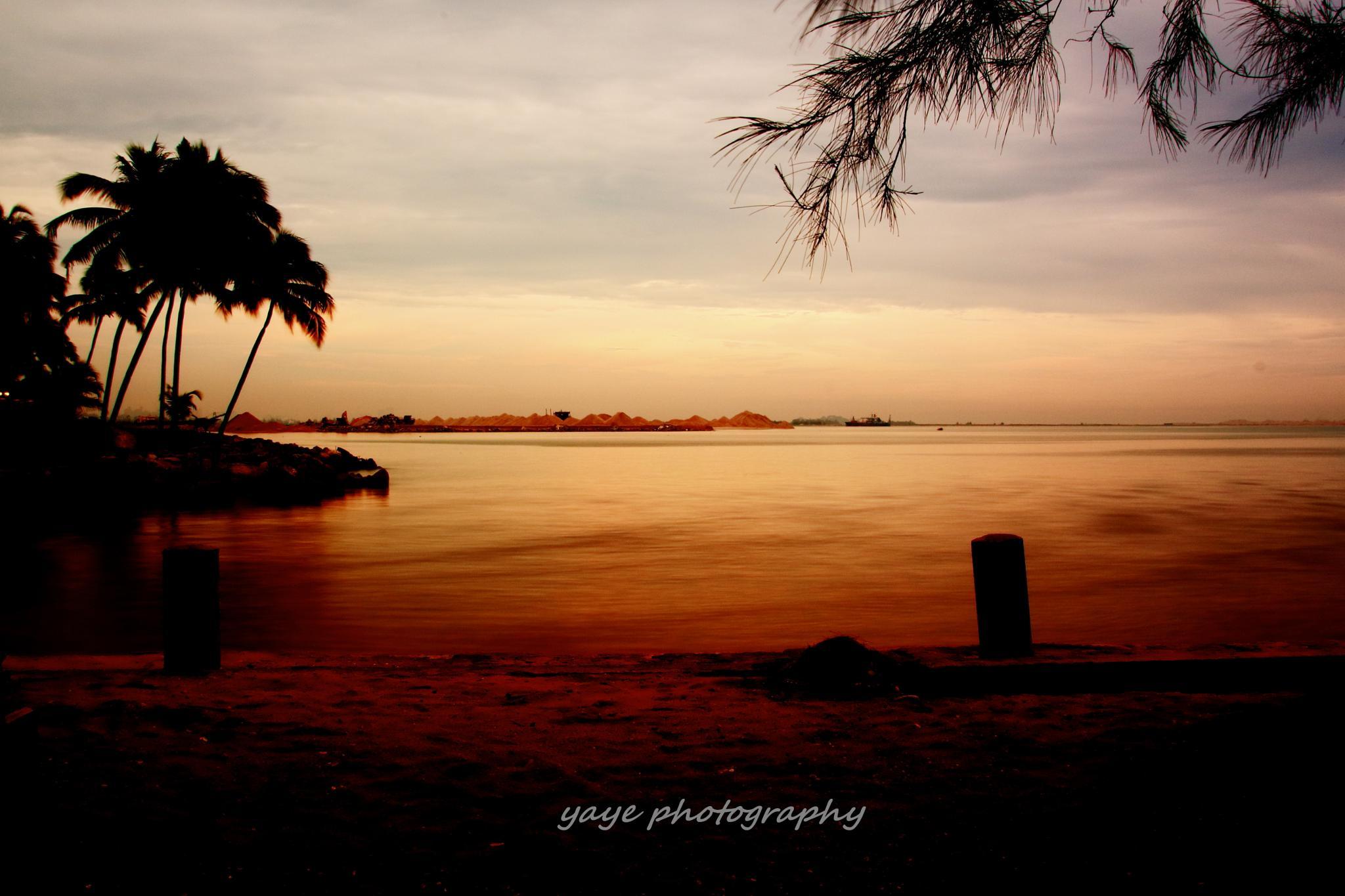 Warm evening by yaye