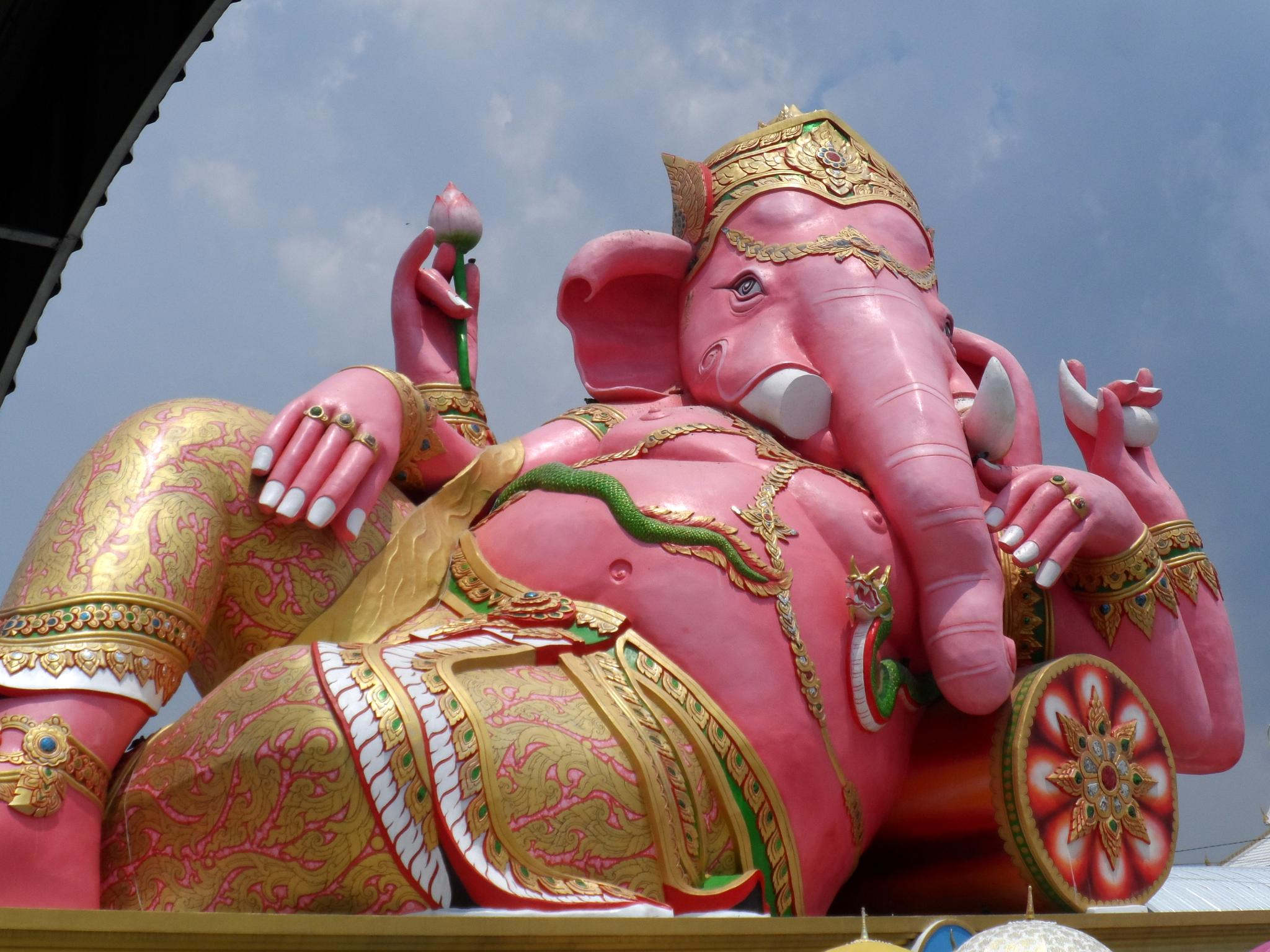 elephant - headed god by tontbao