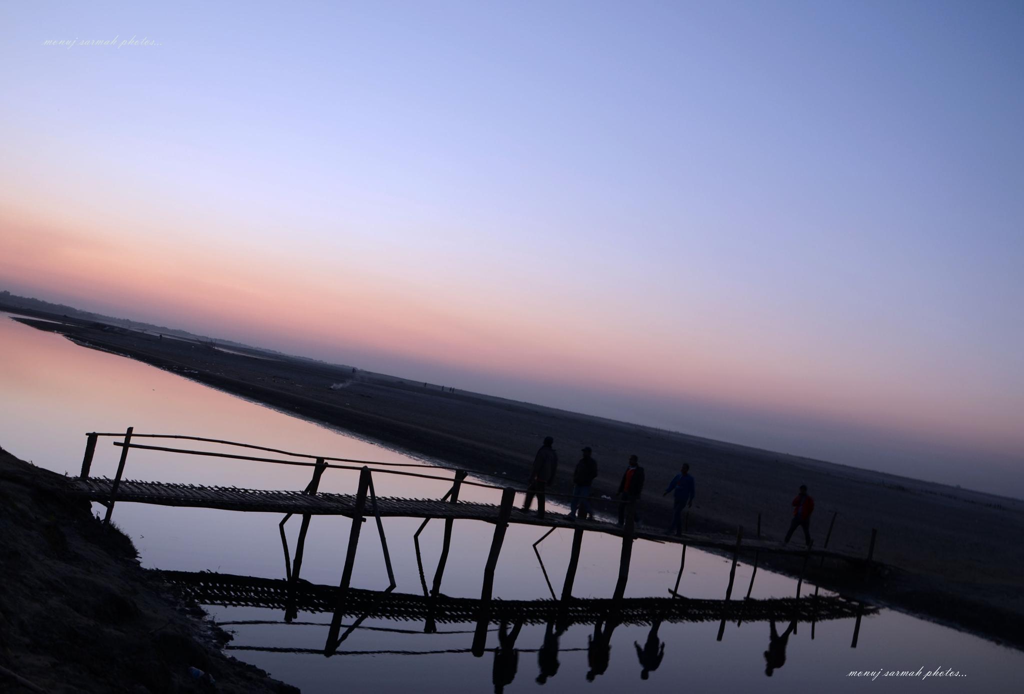 The bridge. by monoj.sarma