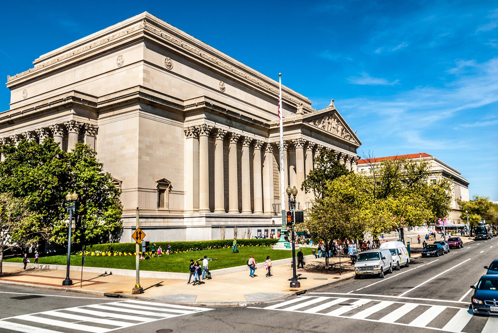 Historical building in DC by Sabrina Sens