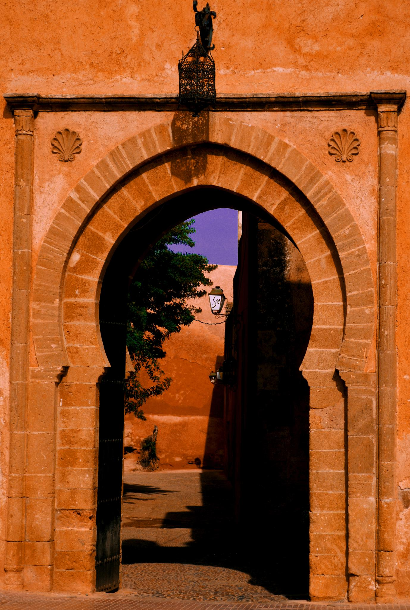 Photo in Architecture #morocco #kasbah #doot #old #red #moorish