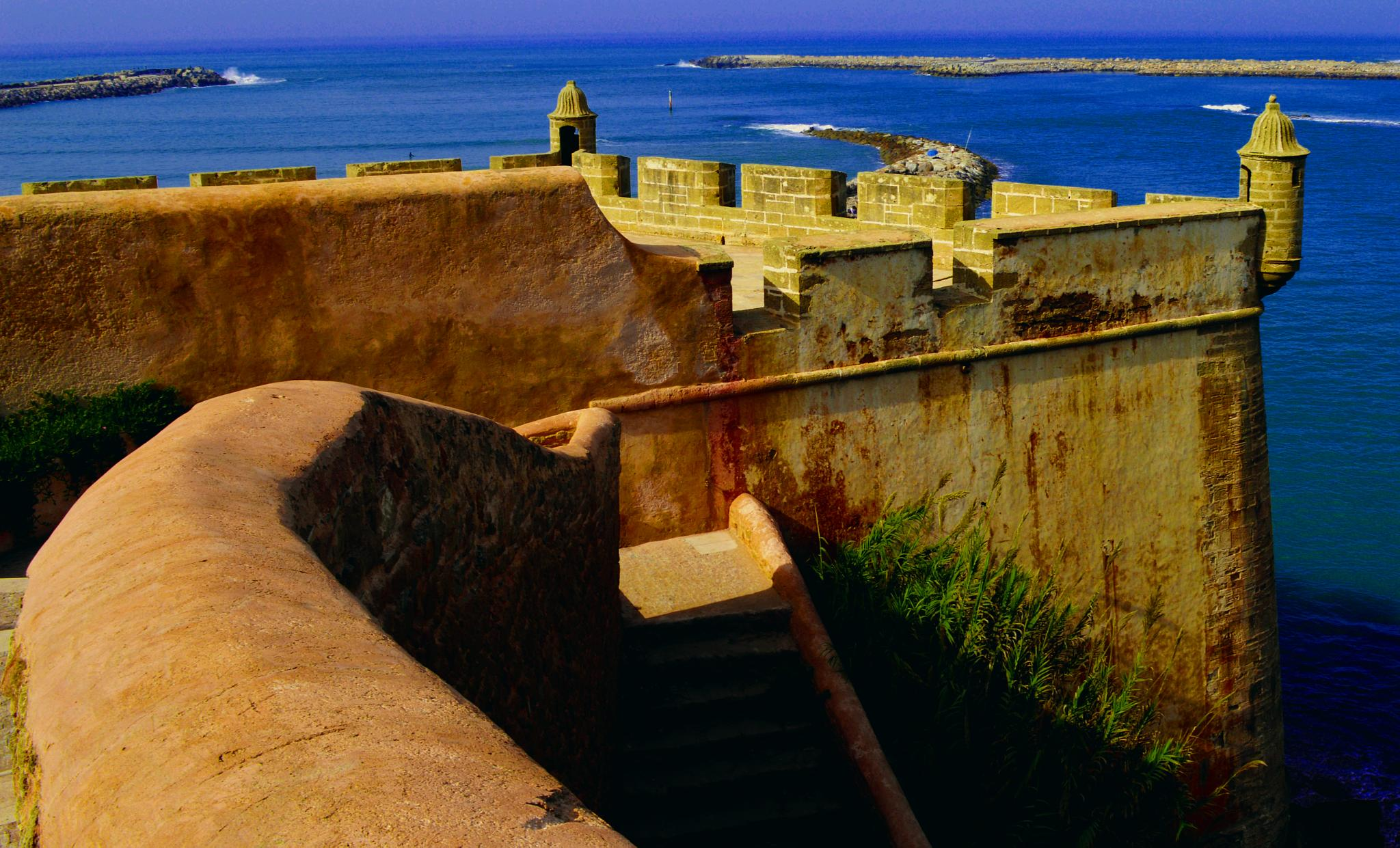 Kasbah of the Oudaias, Outer fortifications. Rabat Morocco by Merouane Benabdelkrim