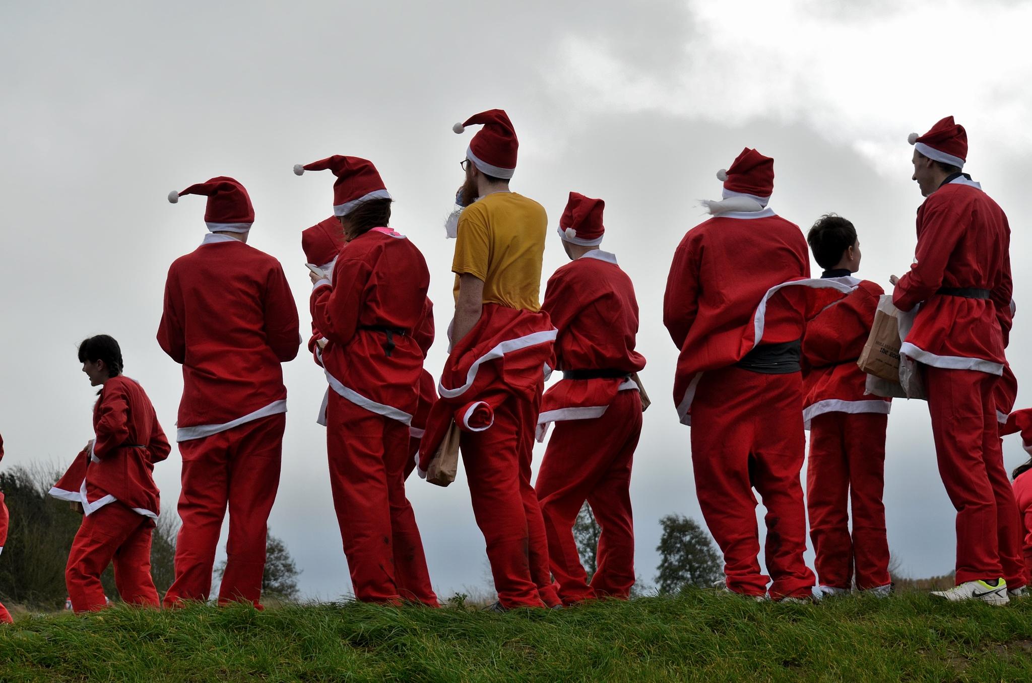 Totally Random ......Santas looking for their Lost Reindeer by AndyWaters