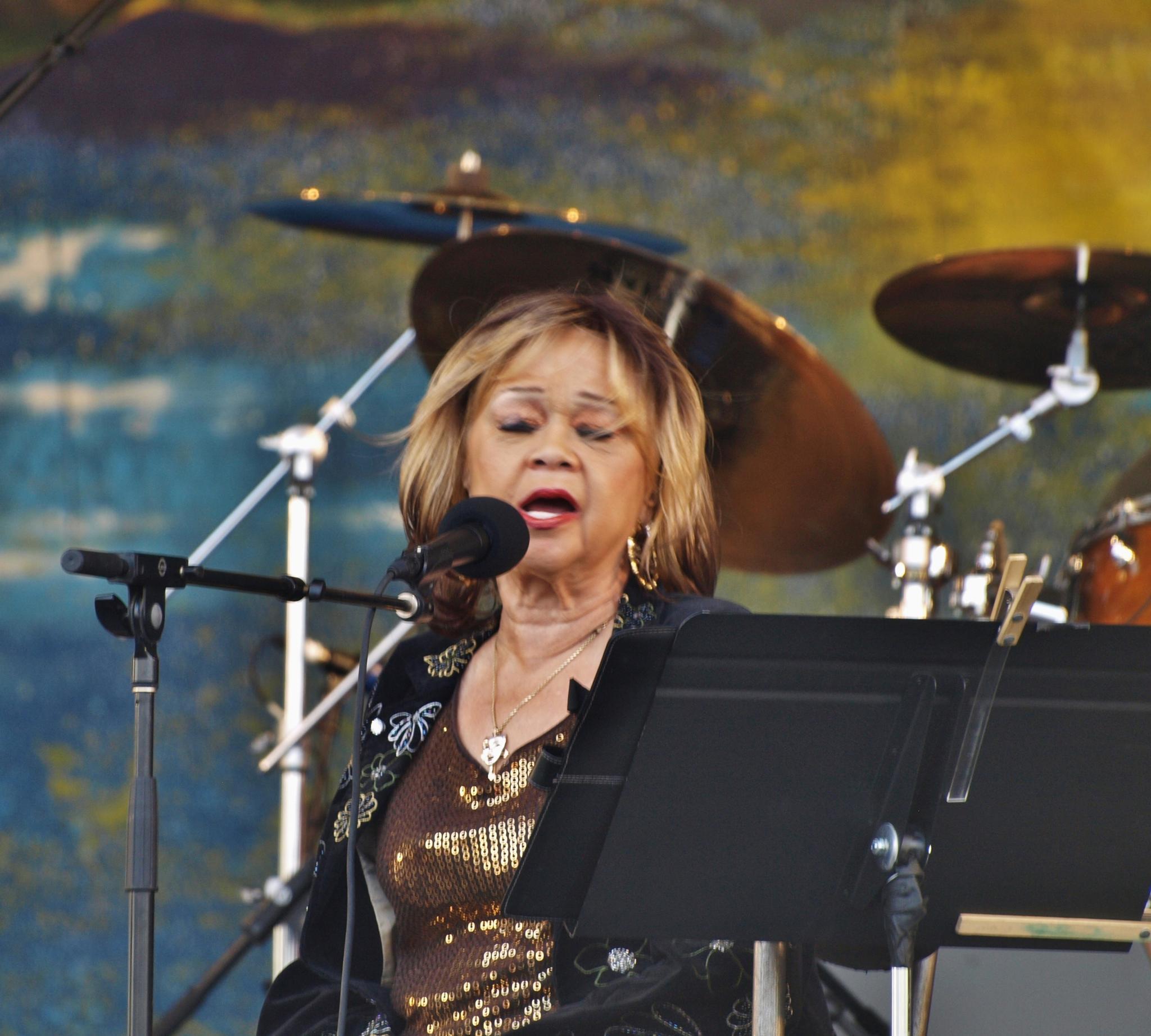 Etta James by William Morgan