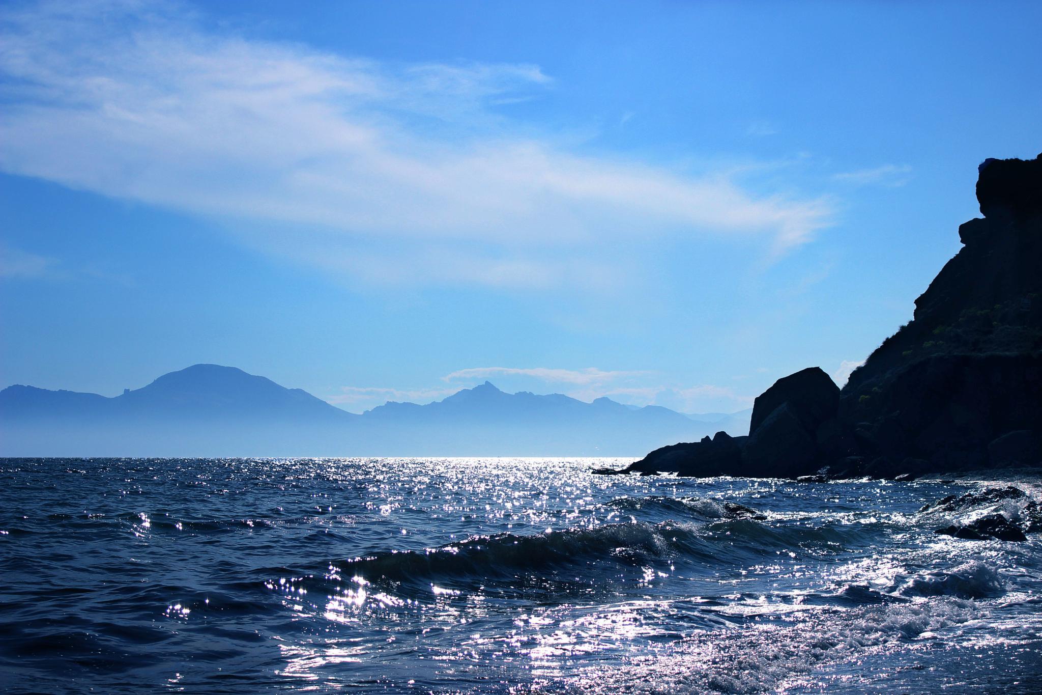 The Black Sea by marina.ivanova.908347
