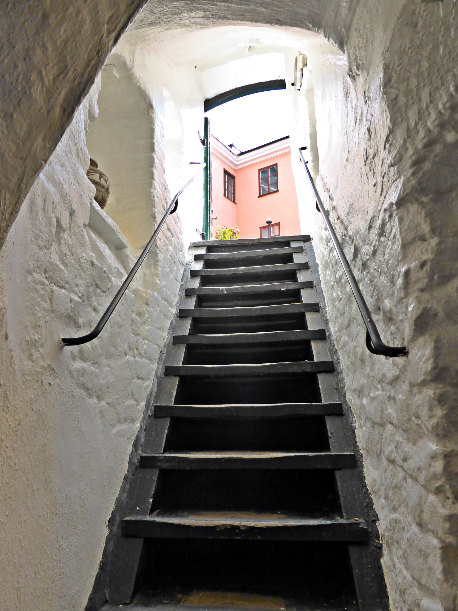 Stairs from medieval by Luba