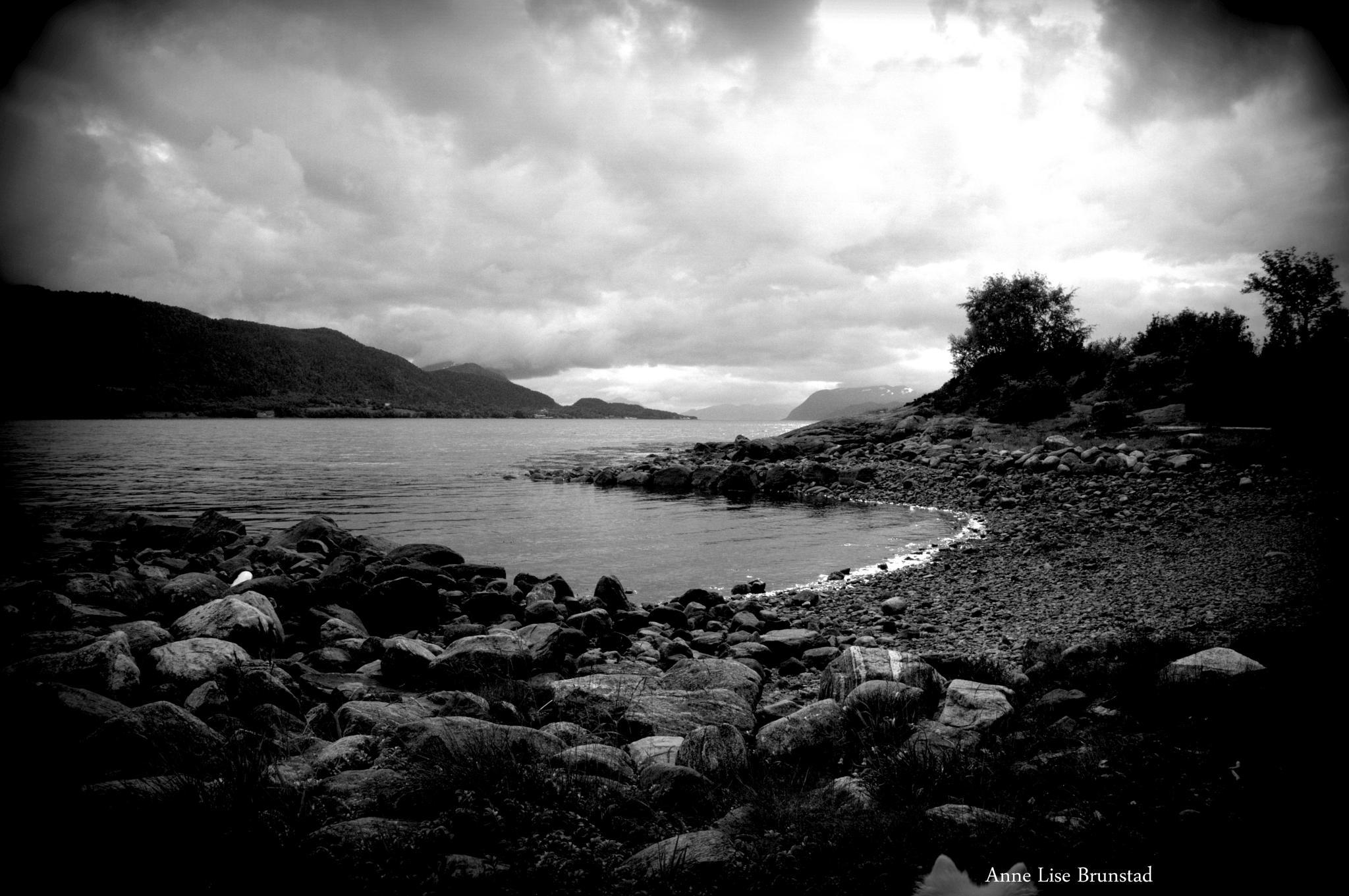 One dark day in summer Norway by anne.l.brunstad