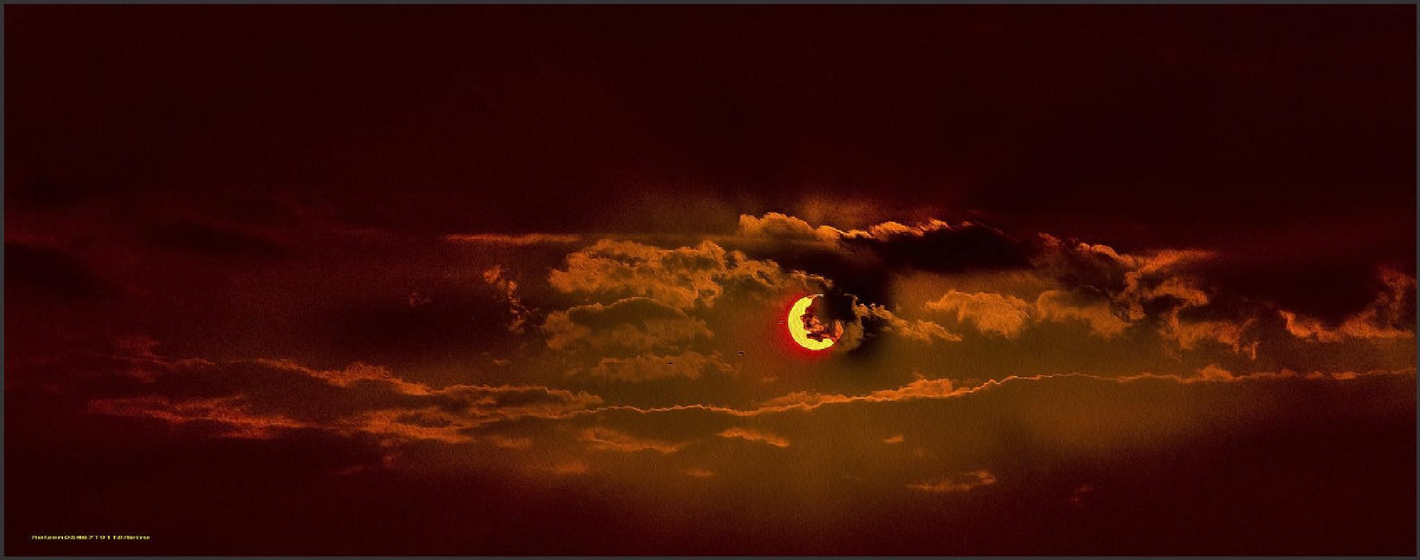 Who says the sky is blue? (2) by SHMUAL HAVA RETRO