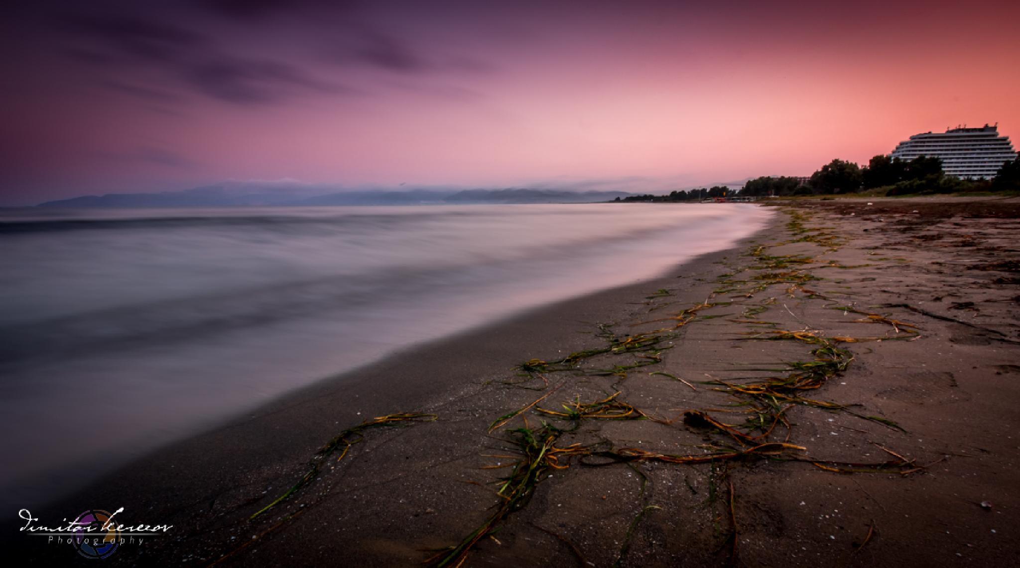 Sunrise in Kusadasi by Dimitar Kerezov
