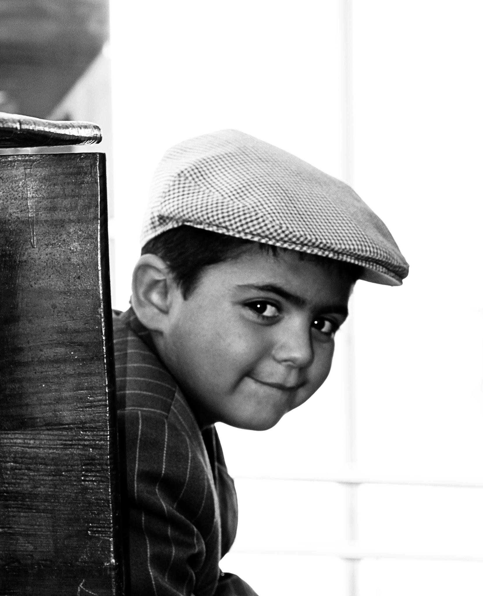 Shy boy by antoniojppereira