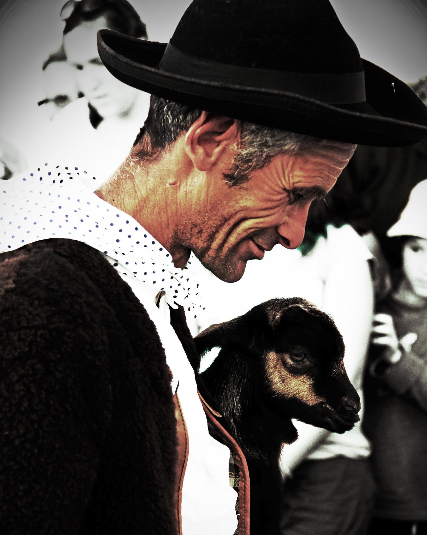 Goat Shepherd by antoniojppereira