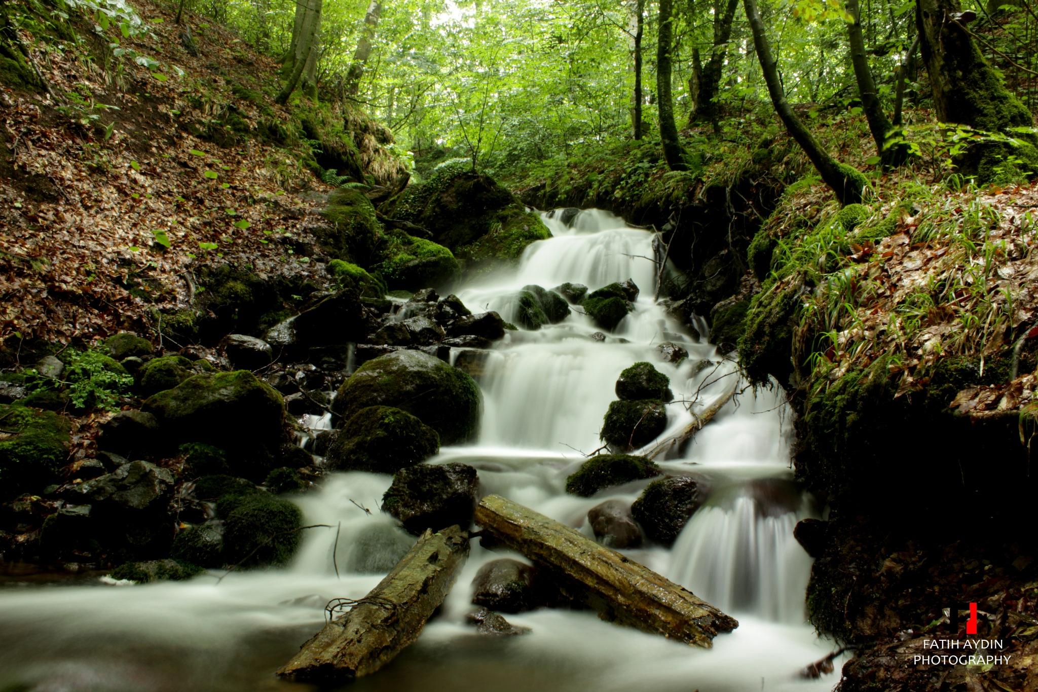 Waterfall  by FATİH AYDIN