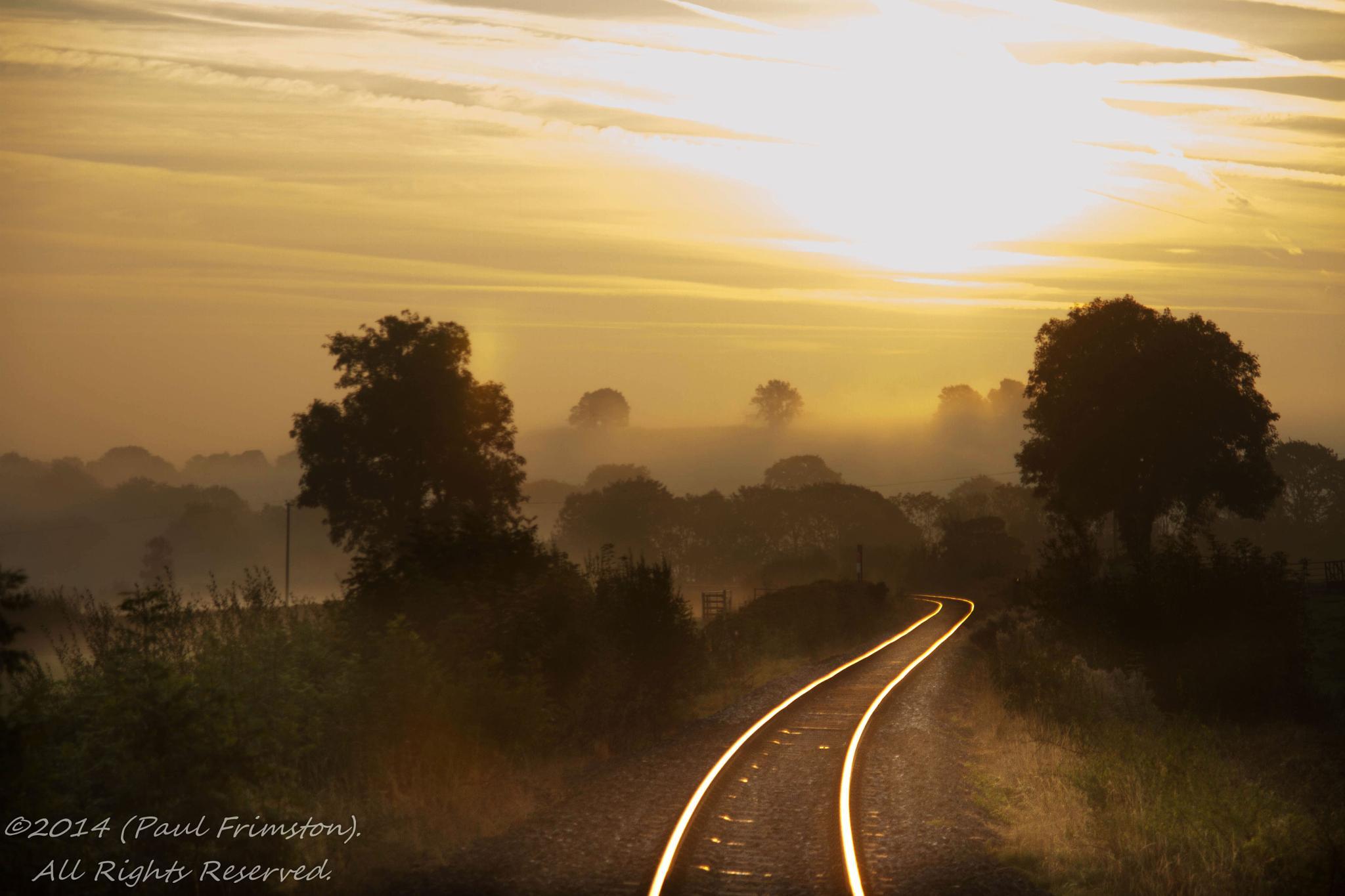 Photo in Landscape #railway