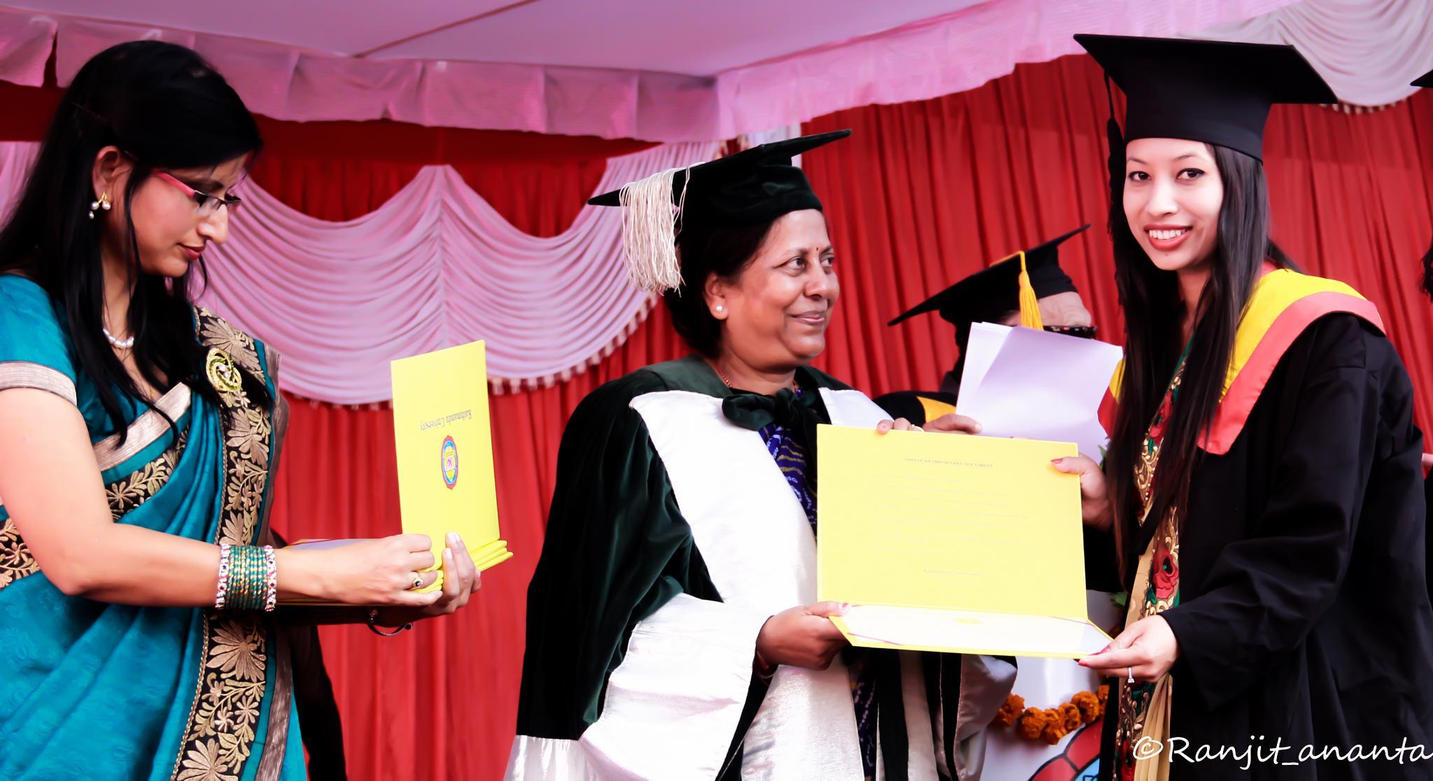 graduation by Ranjit Ananta