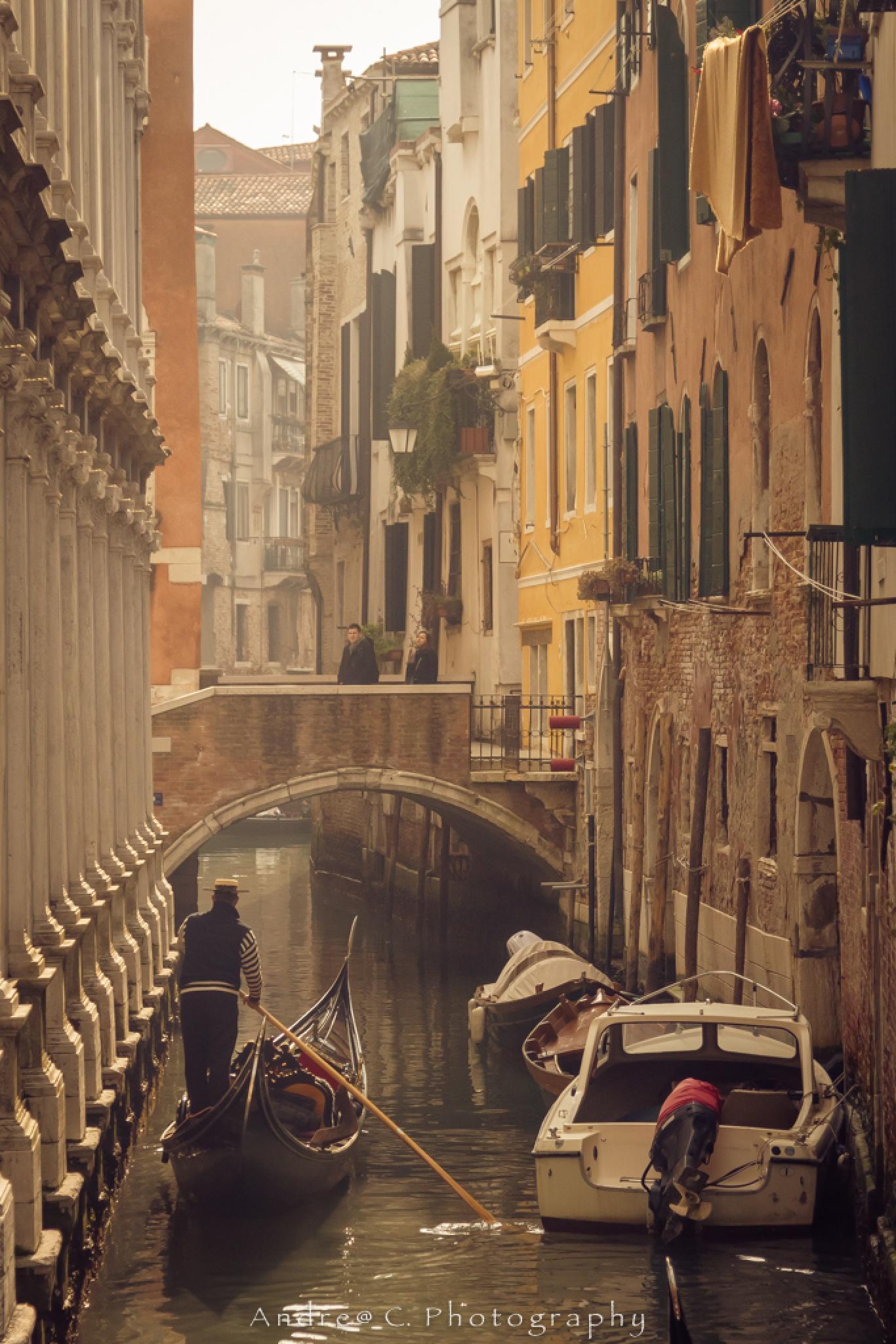 Wonderful Venice by Andrea Chiafele