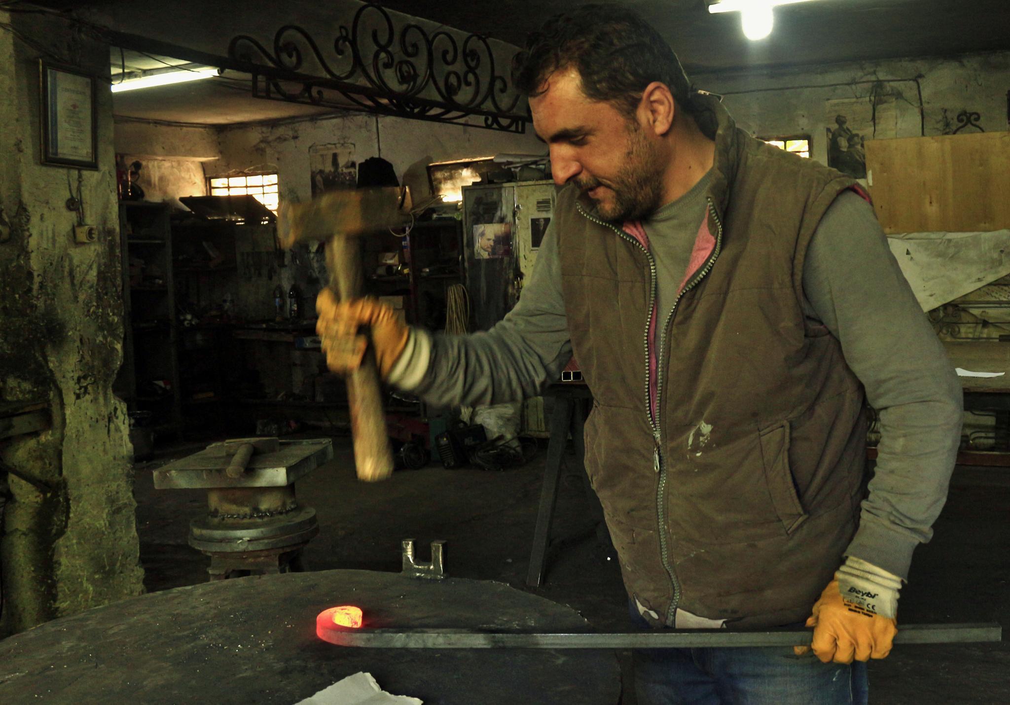 Demirci/Iron master by meryem.g.ozkaya
