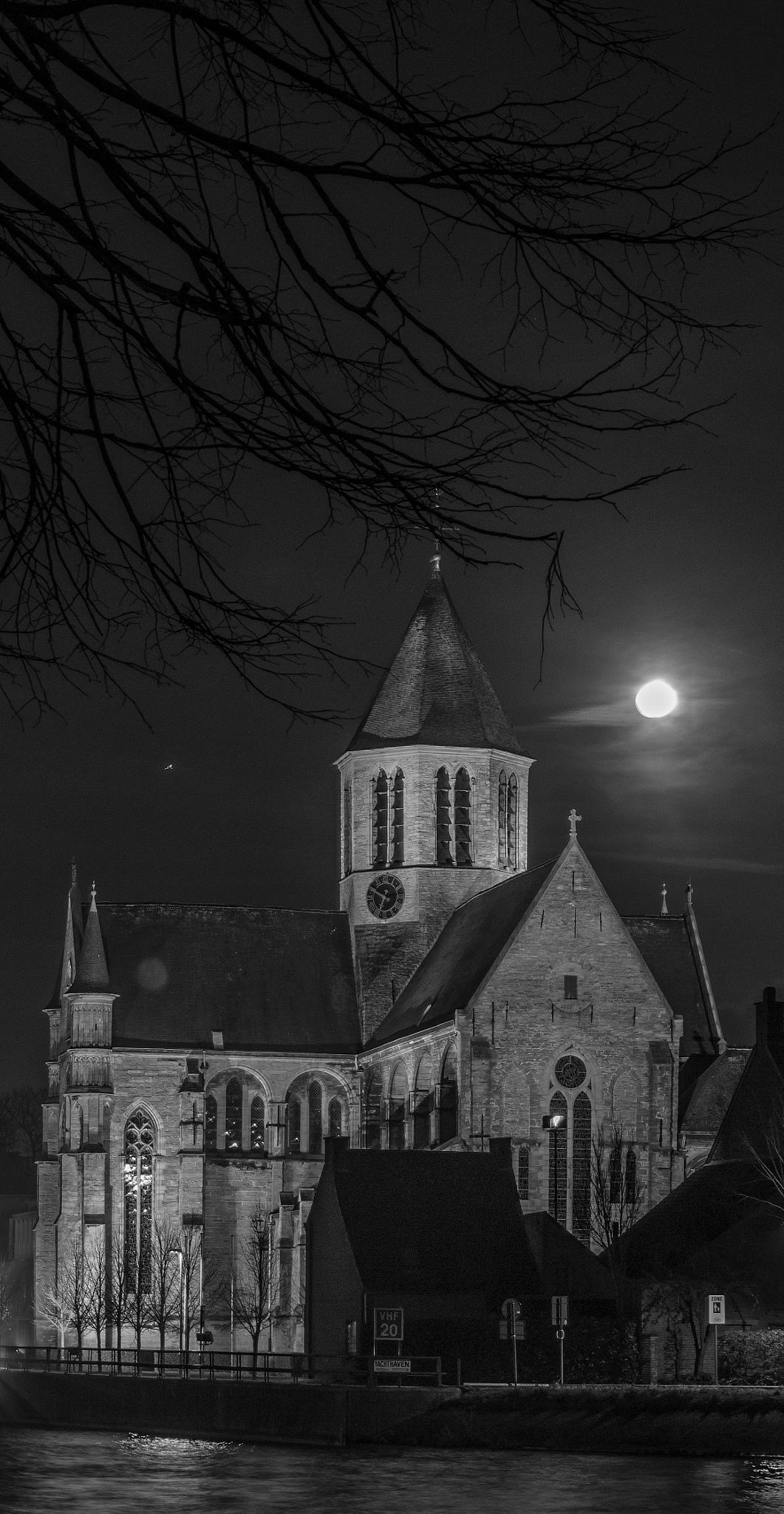 Pamele Kerk - Oudenaarde by darkinferno