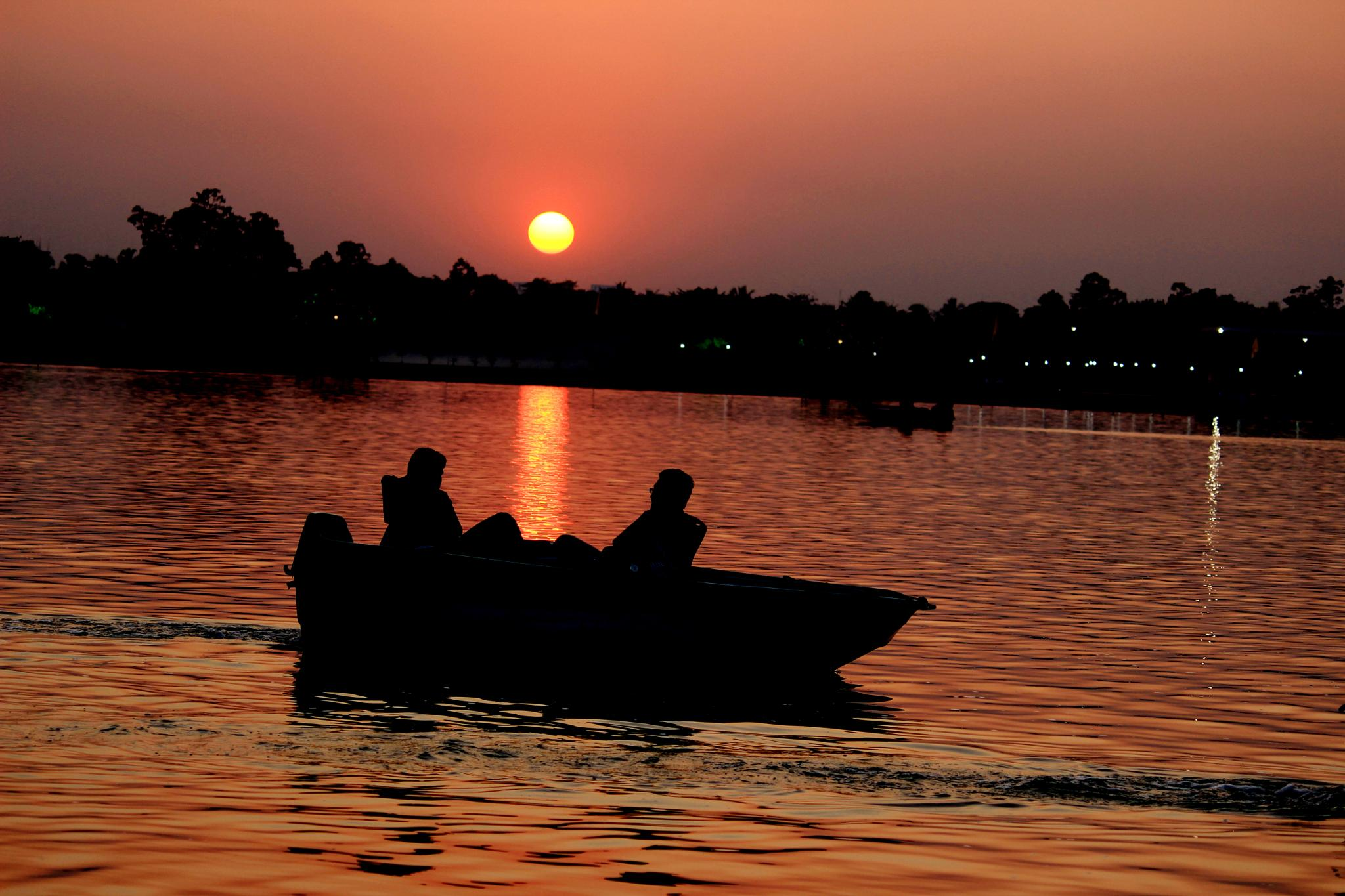 Let's Share the Setting Sun :) by Sulagna D