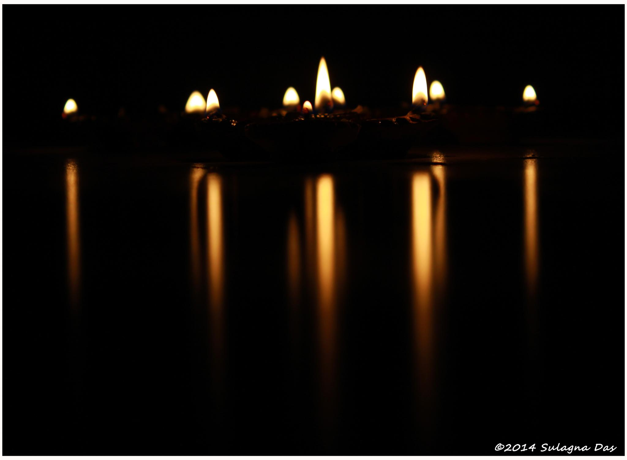 The Festival of Light - Diwali/ Worship of Goddess Kali by Sulagna D