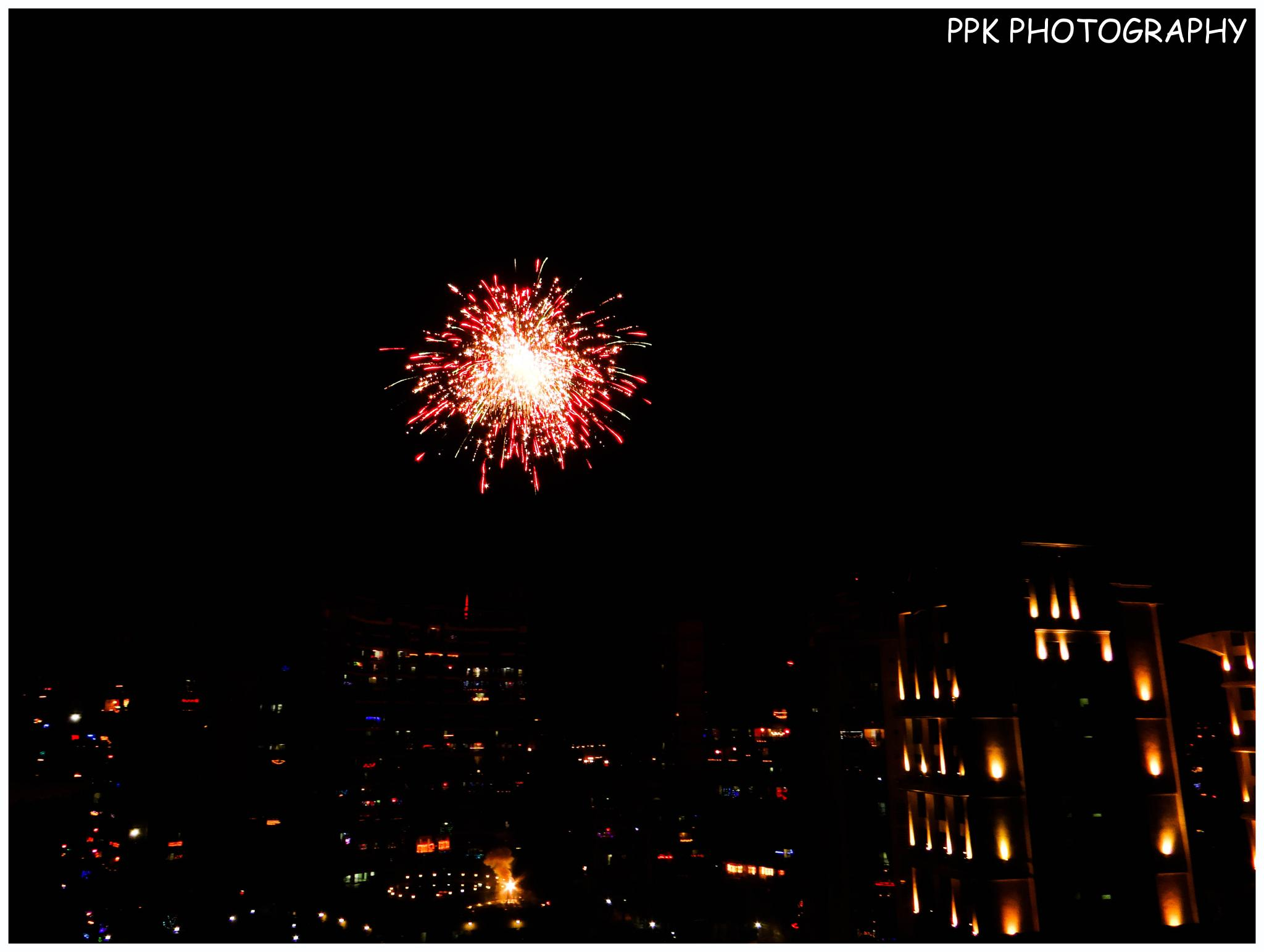 Photo in Random #ppk photography #diwali #fireworks #random