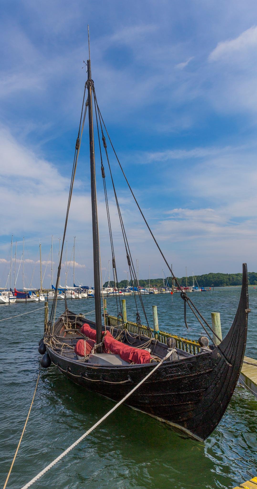 Viking Ship.  by Svein Arne Grønnevik