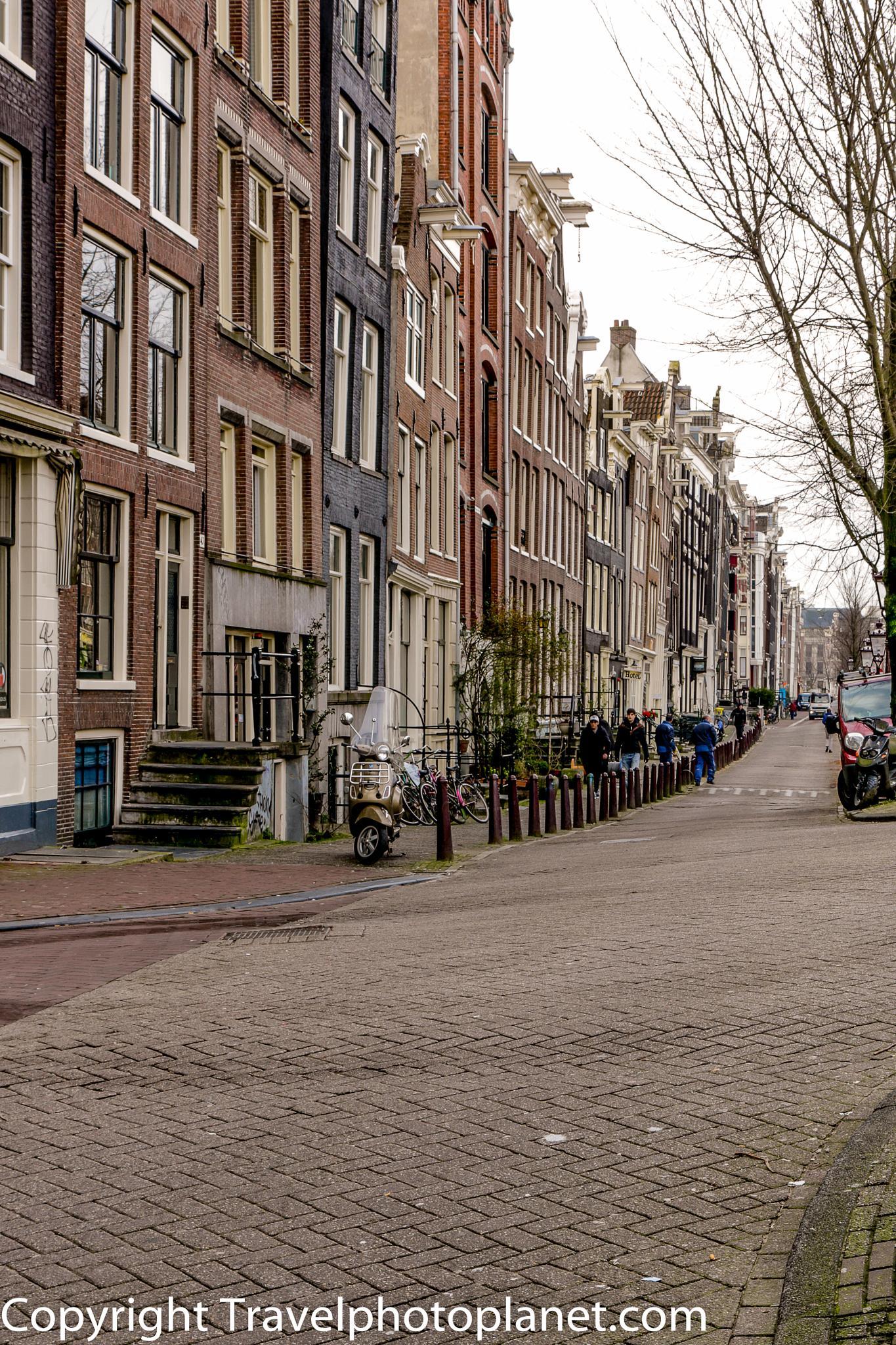 Amsterdam Street by Svein Arne Grønnevik