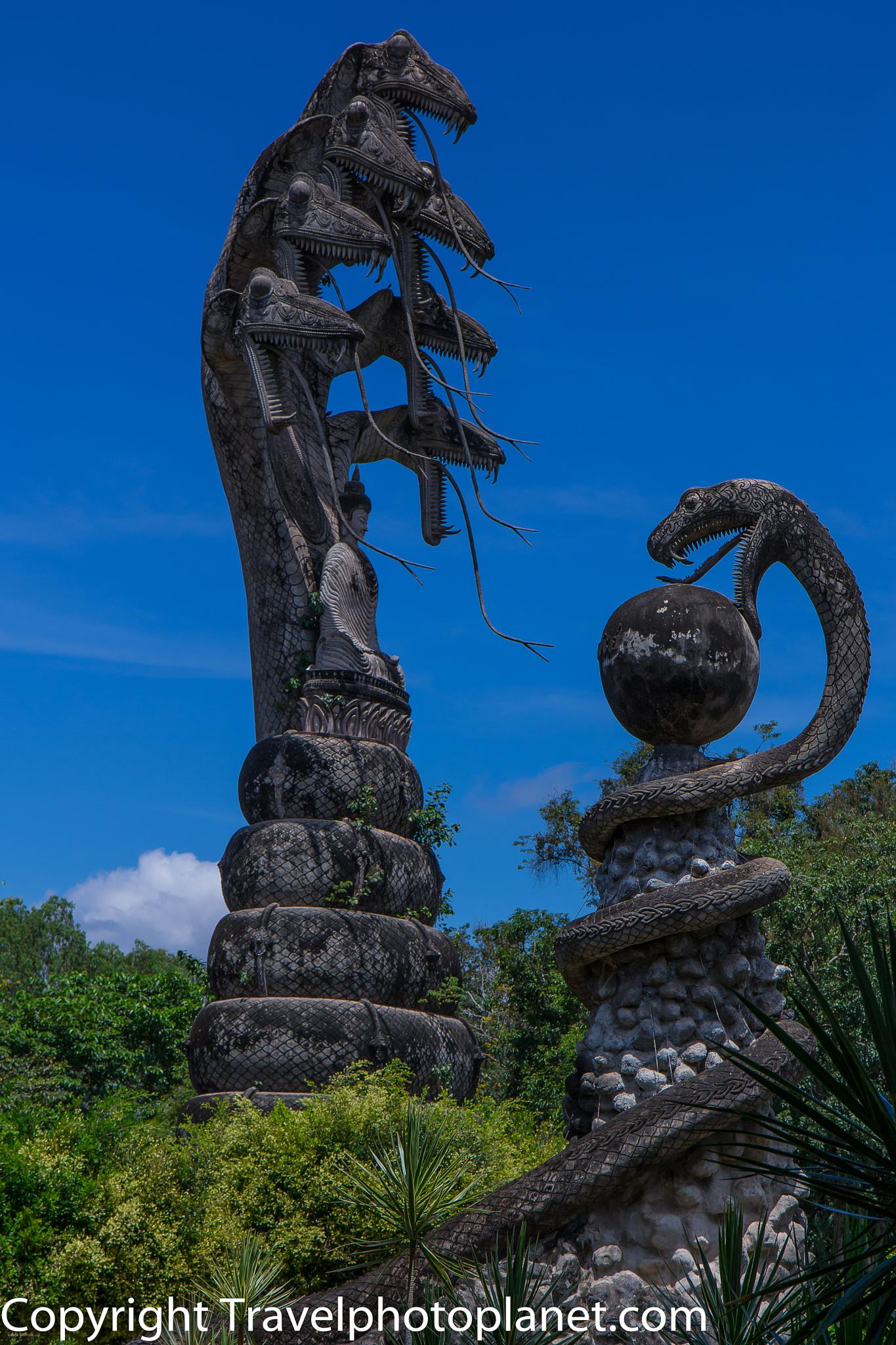 Photo in Travel #travel #tourism #sculpture #salakaewkoo sculpture park #nong khai #thailand