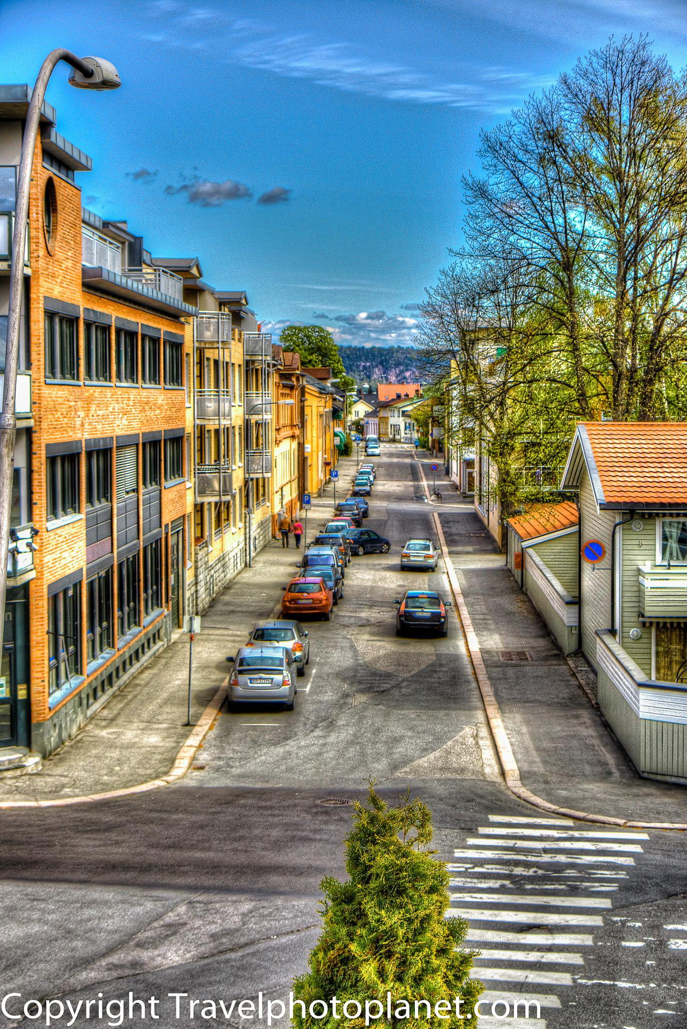 HDR Street by Svein Arne Grønnevik