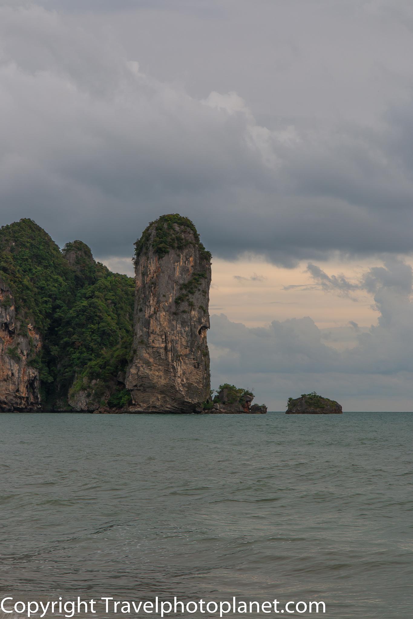 Photo in Landscape #landscape #travel #tourism #beach #mountain #krabi #ao nang #thailand