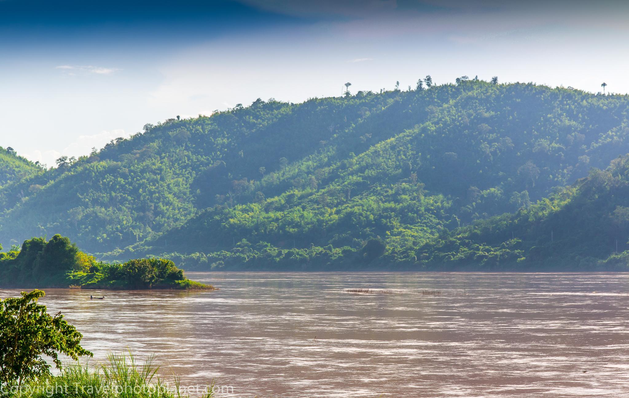 Photo in Random #landscape #travel #river #haze #chang khan #loi #thailand #xanamkhan #laos
