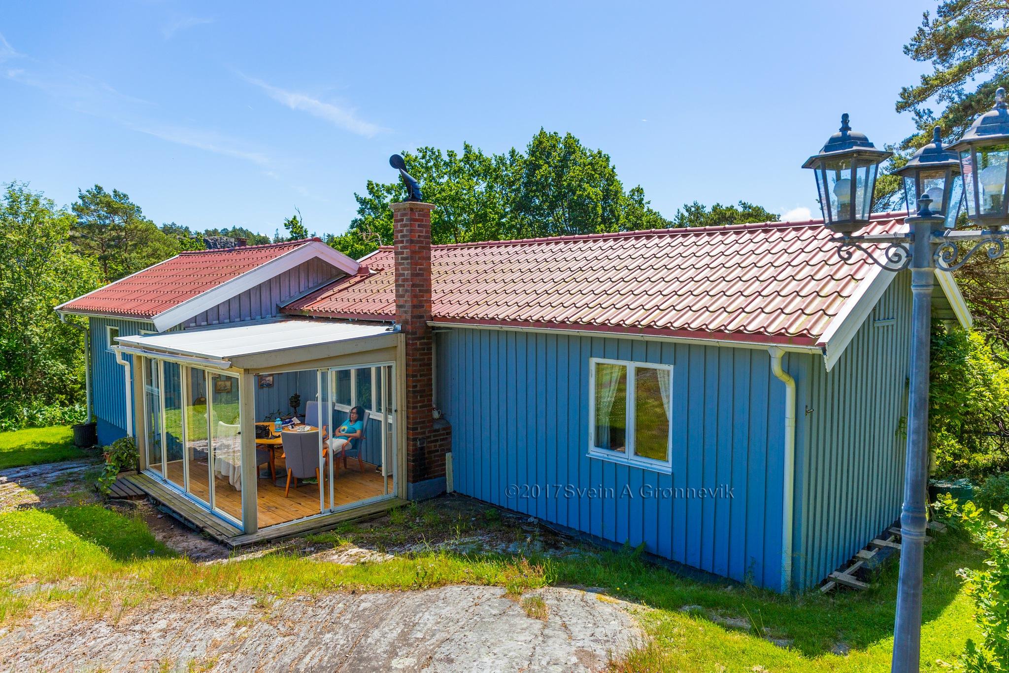 Blue Summerhouse by Svein Arne Grønnevik