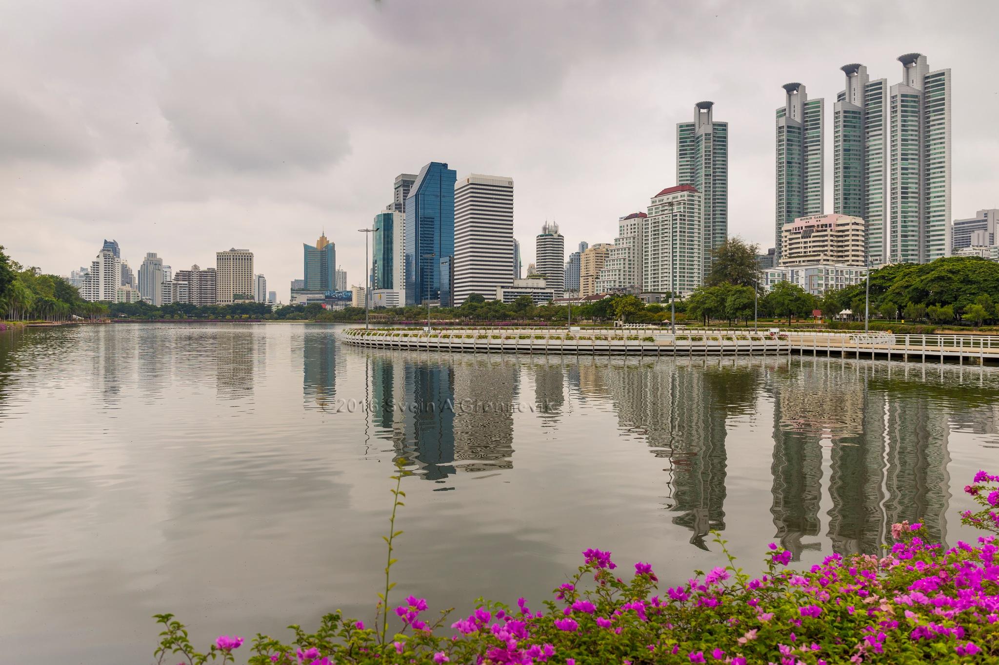 Bangkok Skyline. by Svein Arne Grønnevik