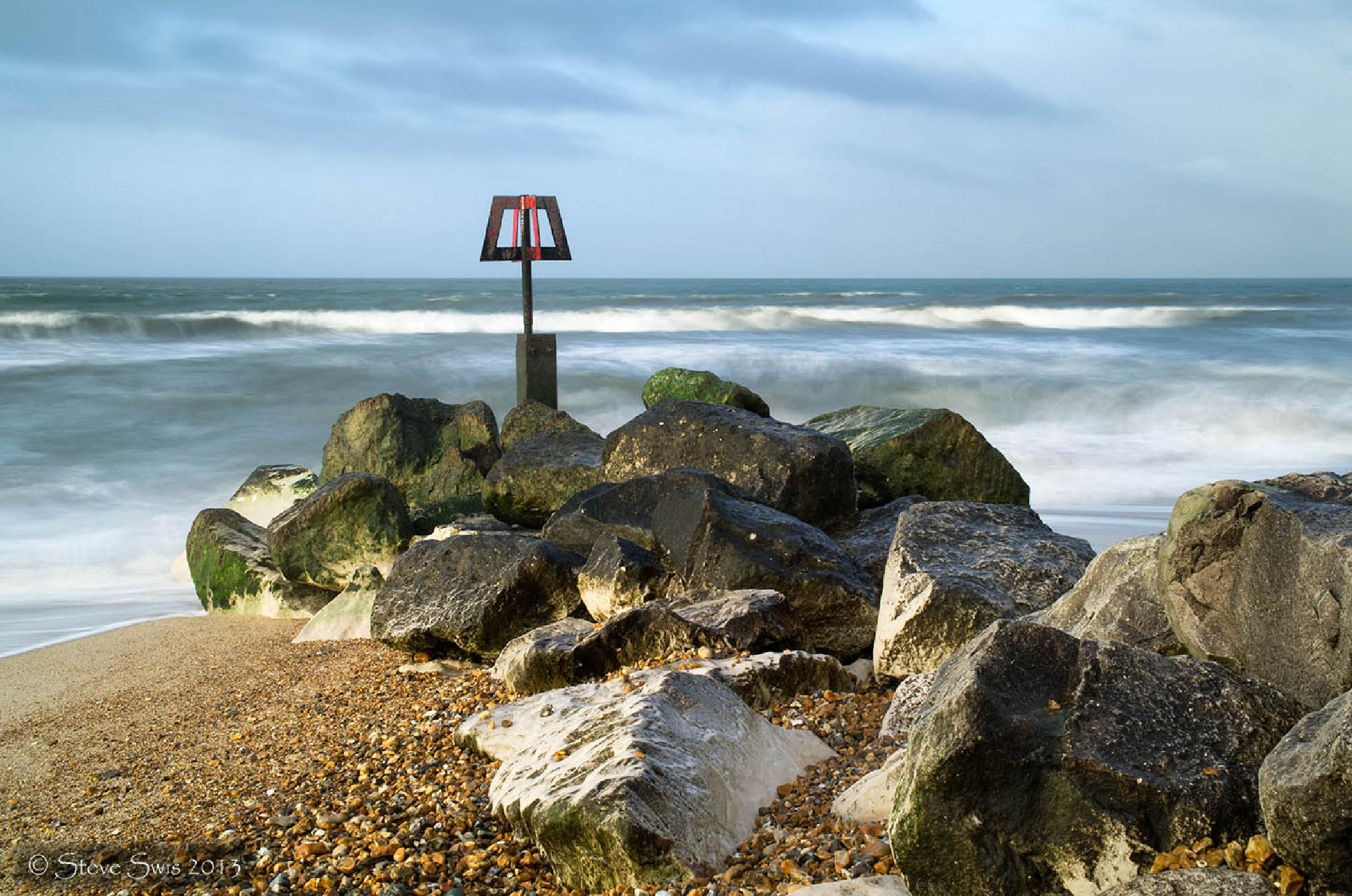 water and rocks by Steve Swis