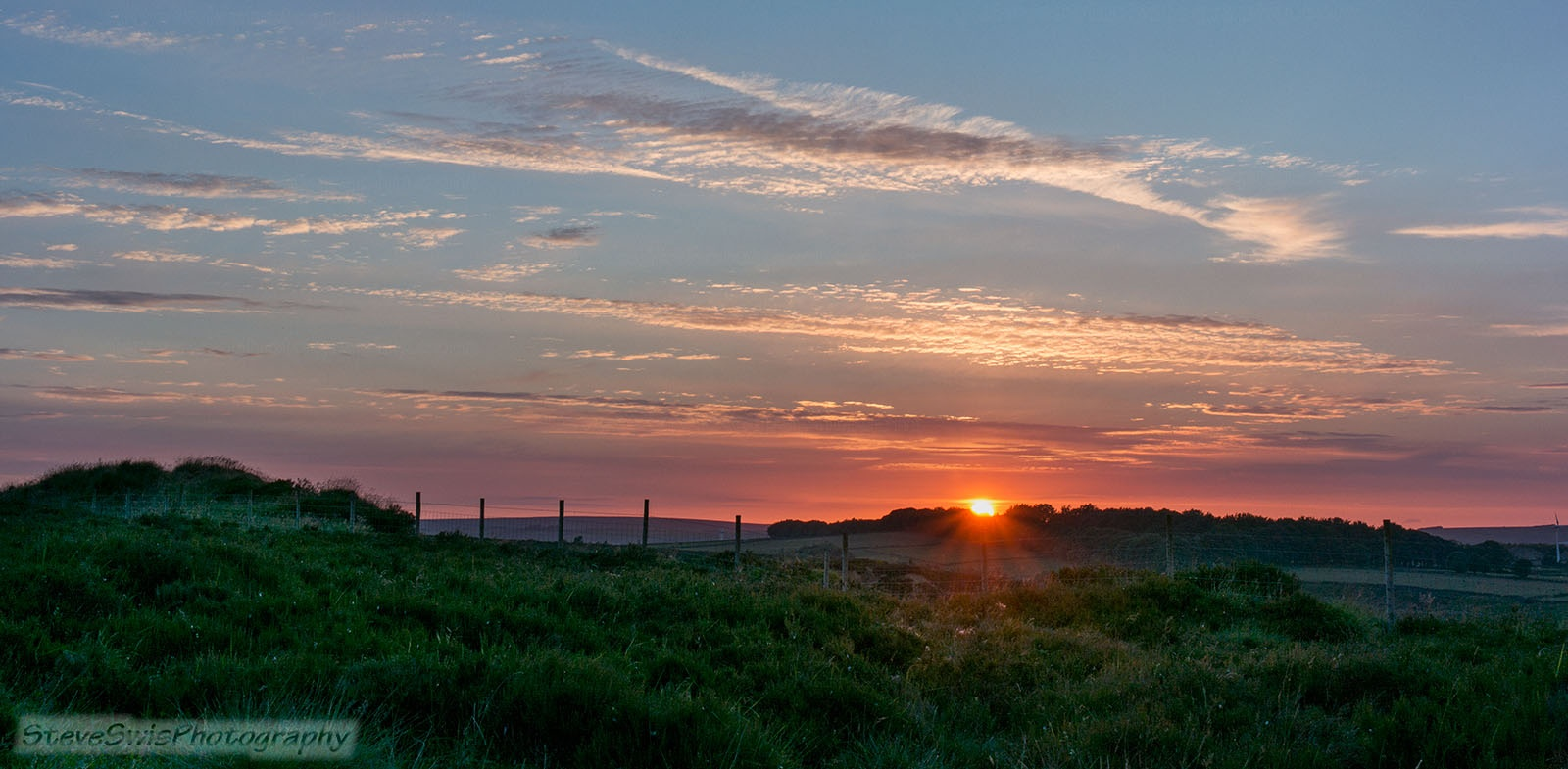Yorkshire sunset by Steve Swis