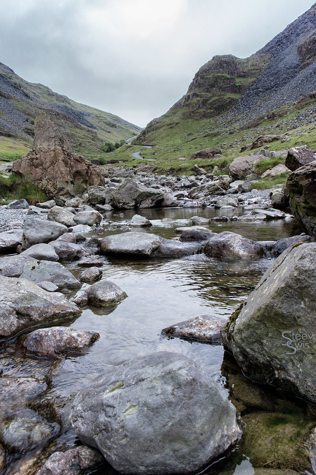 Honister Pass by Steve Swis