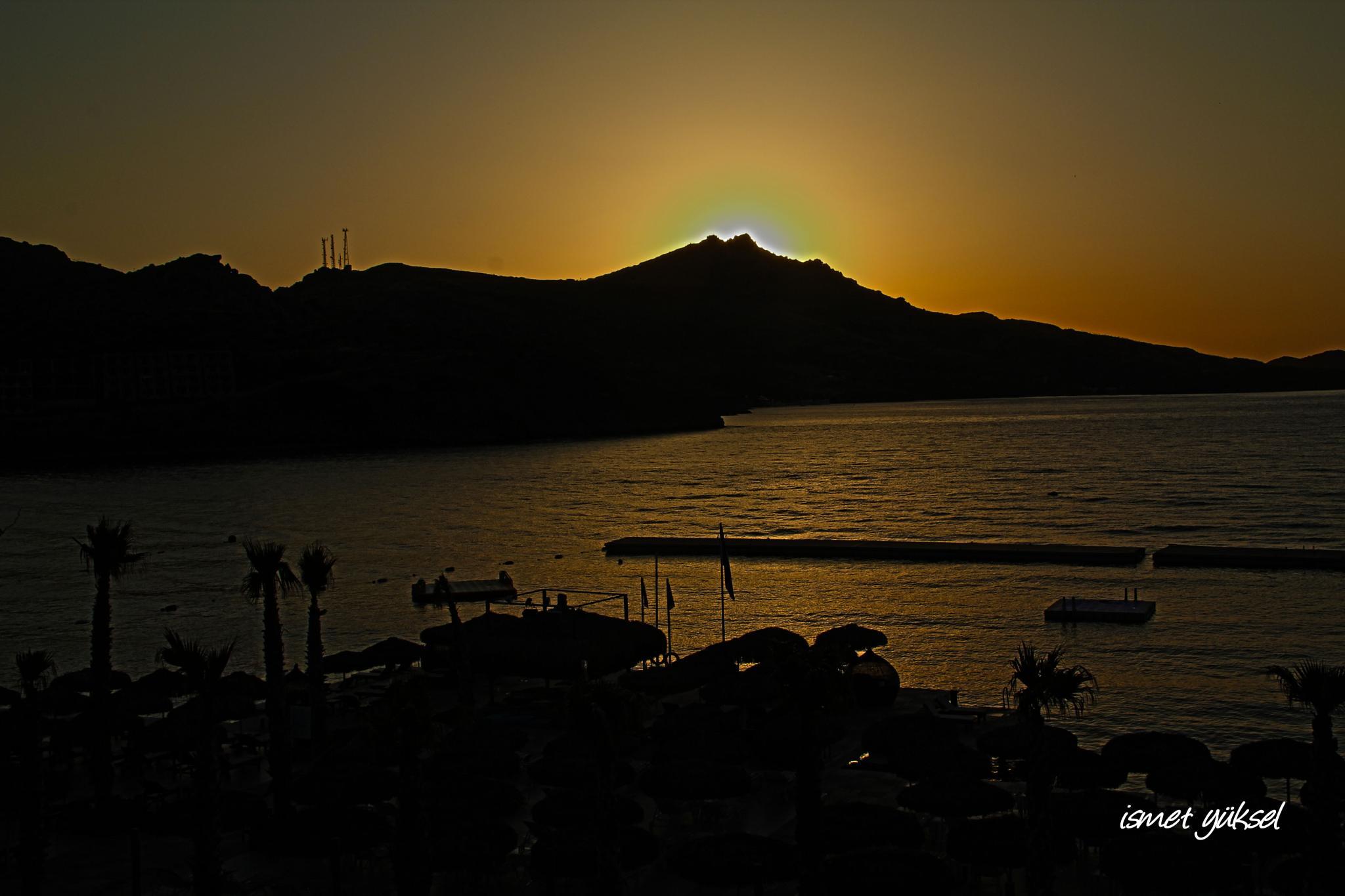 Photo in Sea and Sand #sunset günbatımı nature nat