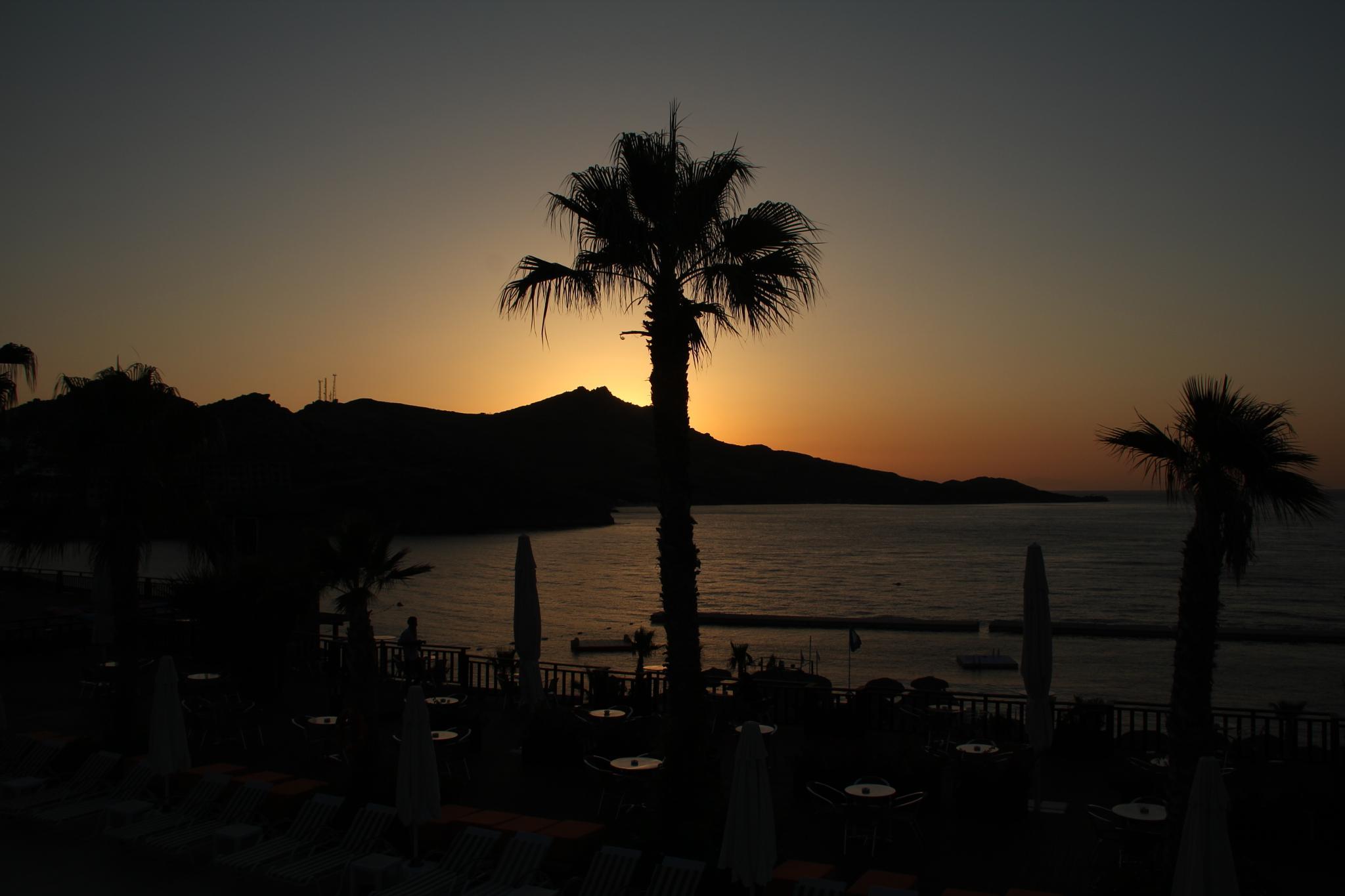 Photo in Sea and Sand #sunset nature natural günba