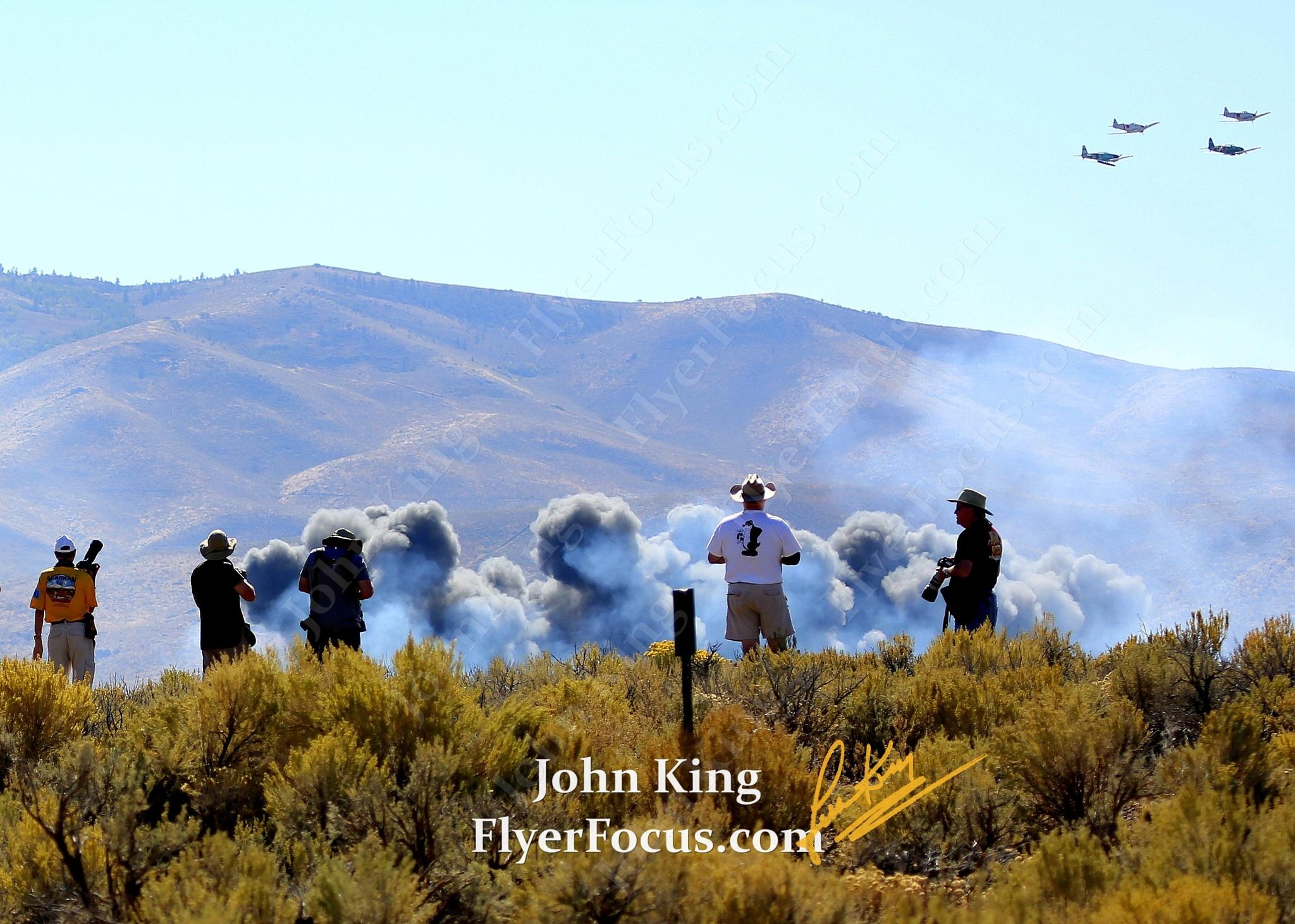 Tora Tora Tora at Reno Air Races by John King