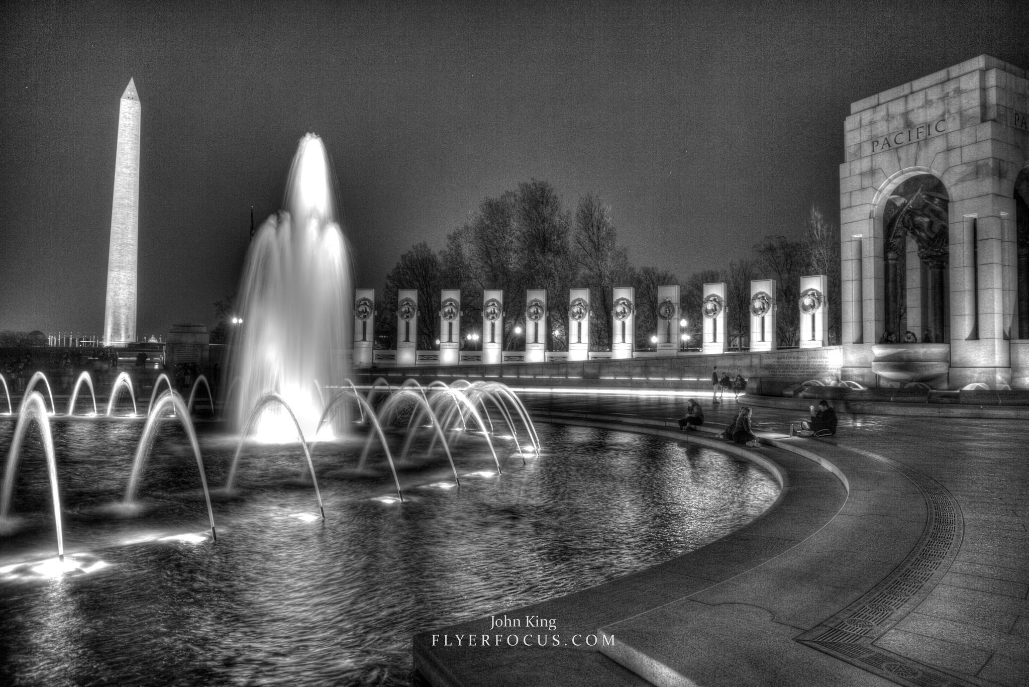 World War II Memorial in Washington DC.  Pacific Theatre. by John King