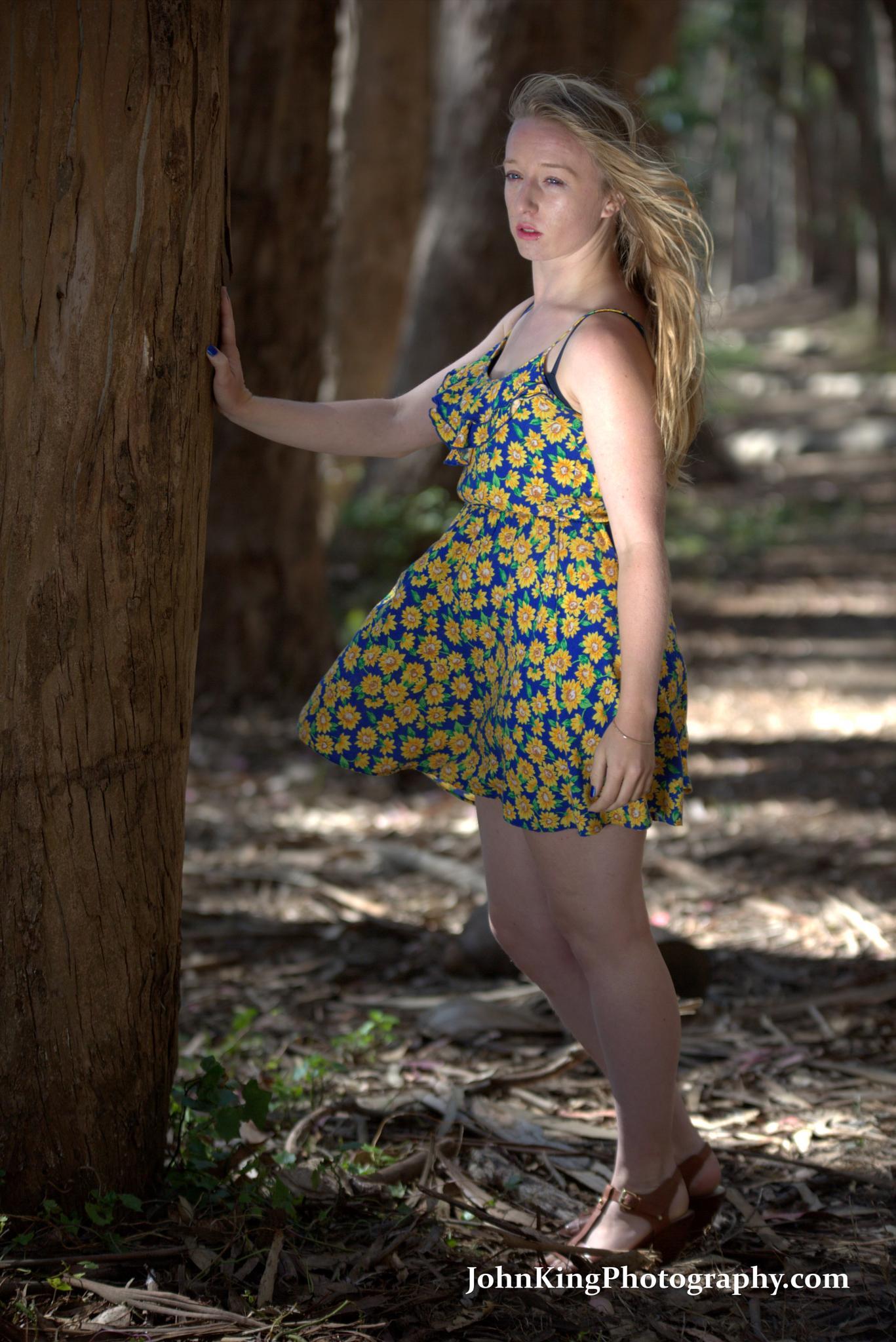 Natalia @ Presidio's Woodline by John King
