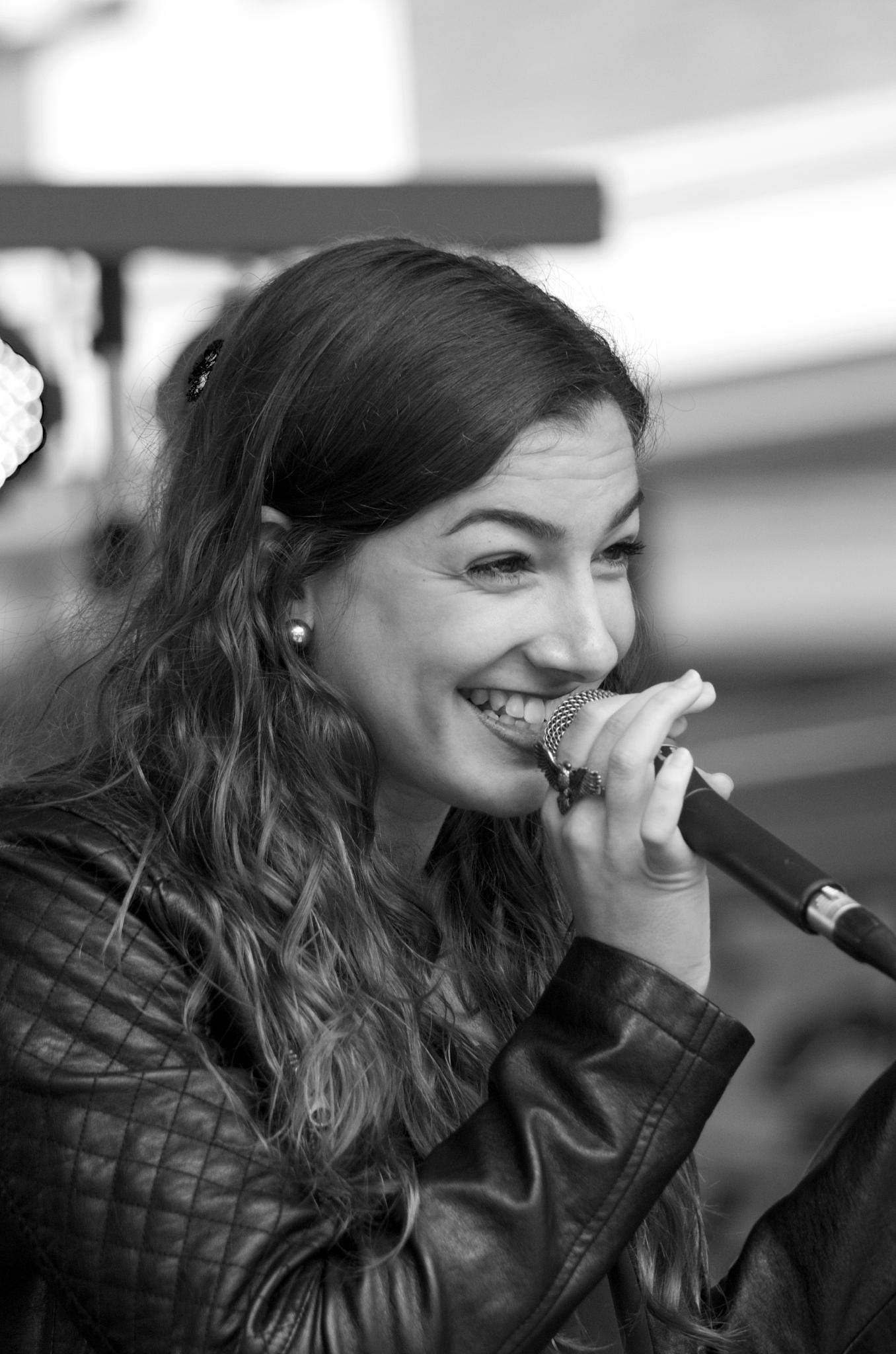 Photo in Concert #vocal #bw #sw #music #musik #concert