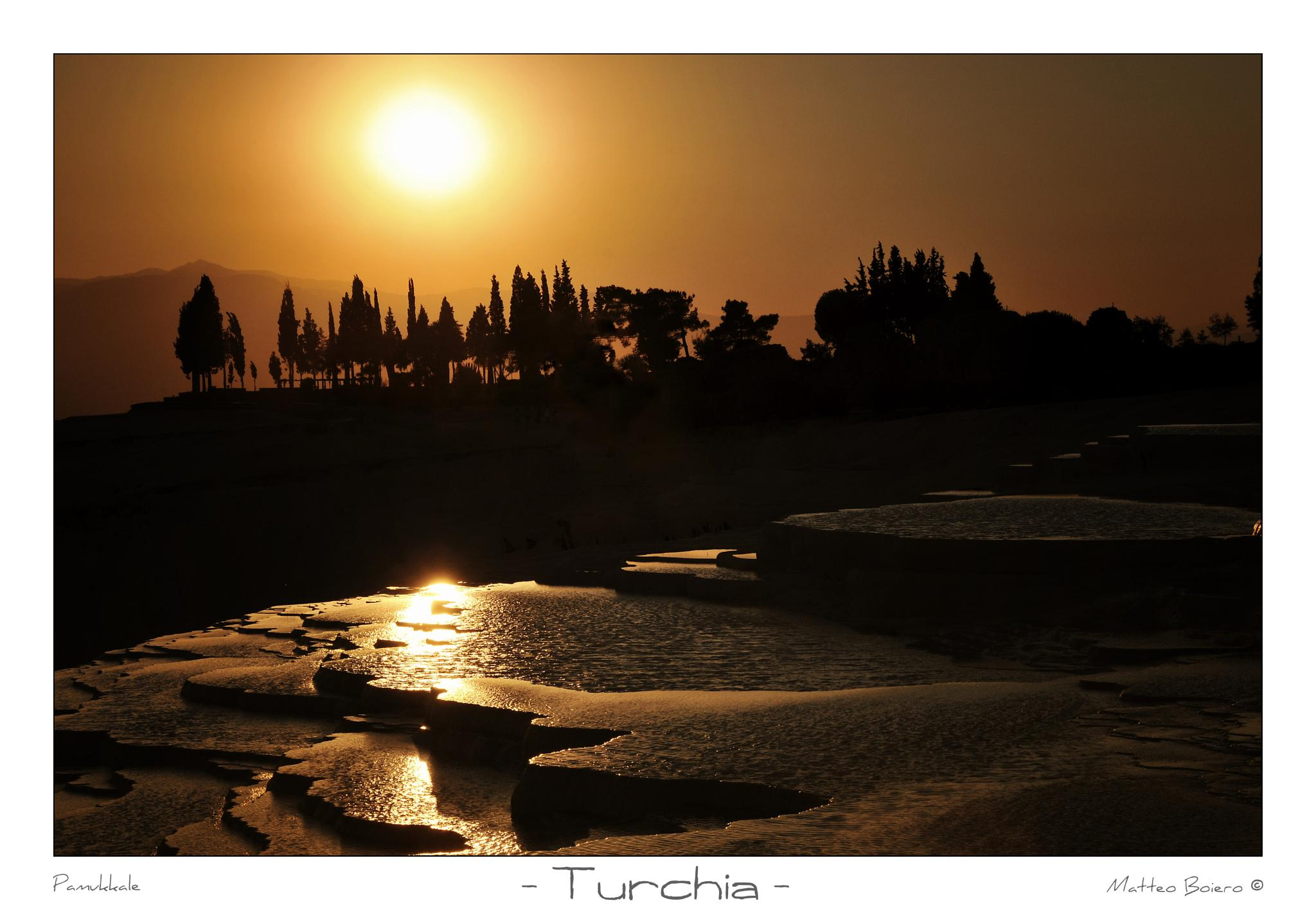 Photo in Landscape #turchia #pamukkale #turkey #tramonto #sunset #landscape #travel #viaggio #viaggi #holiday #vacanze #vacanza #castello di cotone