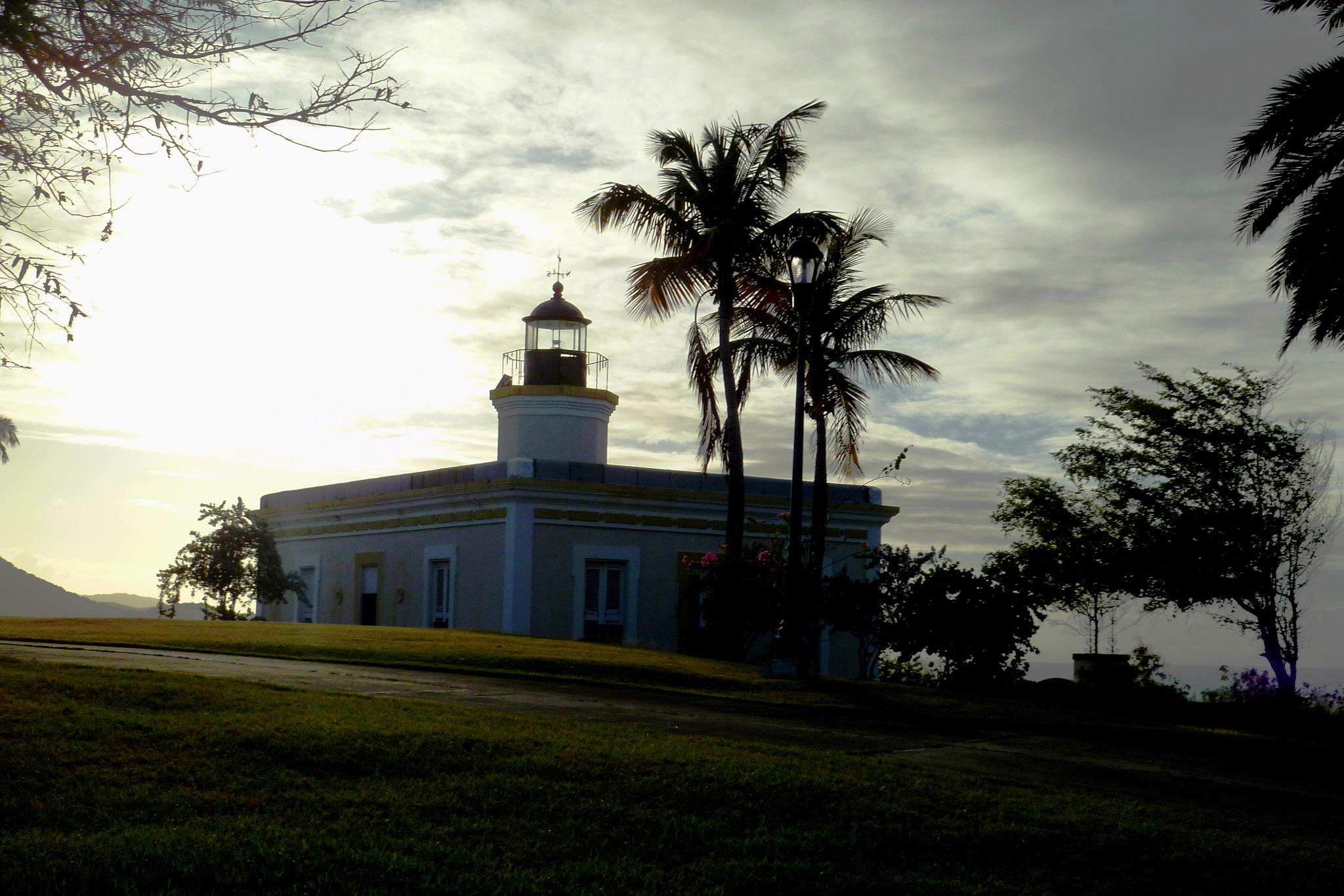 Vieques Lighthouse by Cait Templeton