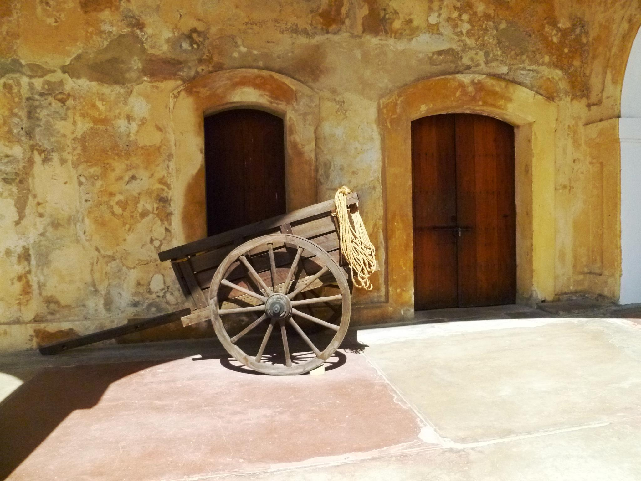 Photo in Travel #wagon #fort #caribbean #island #spanish #historic