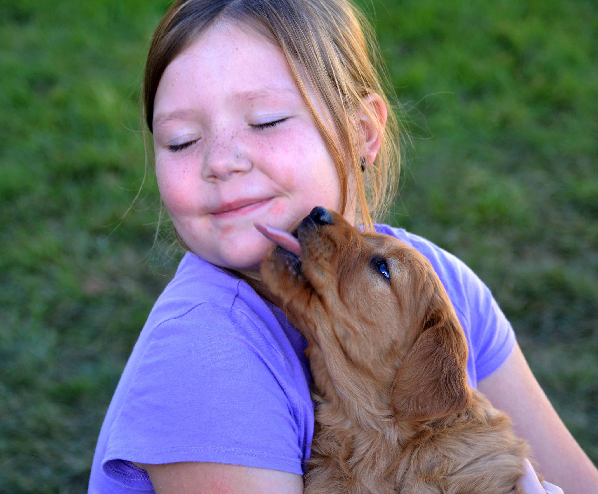 Photo in People #puppy kiss